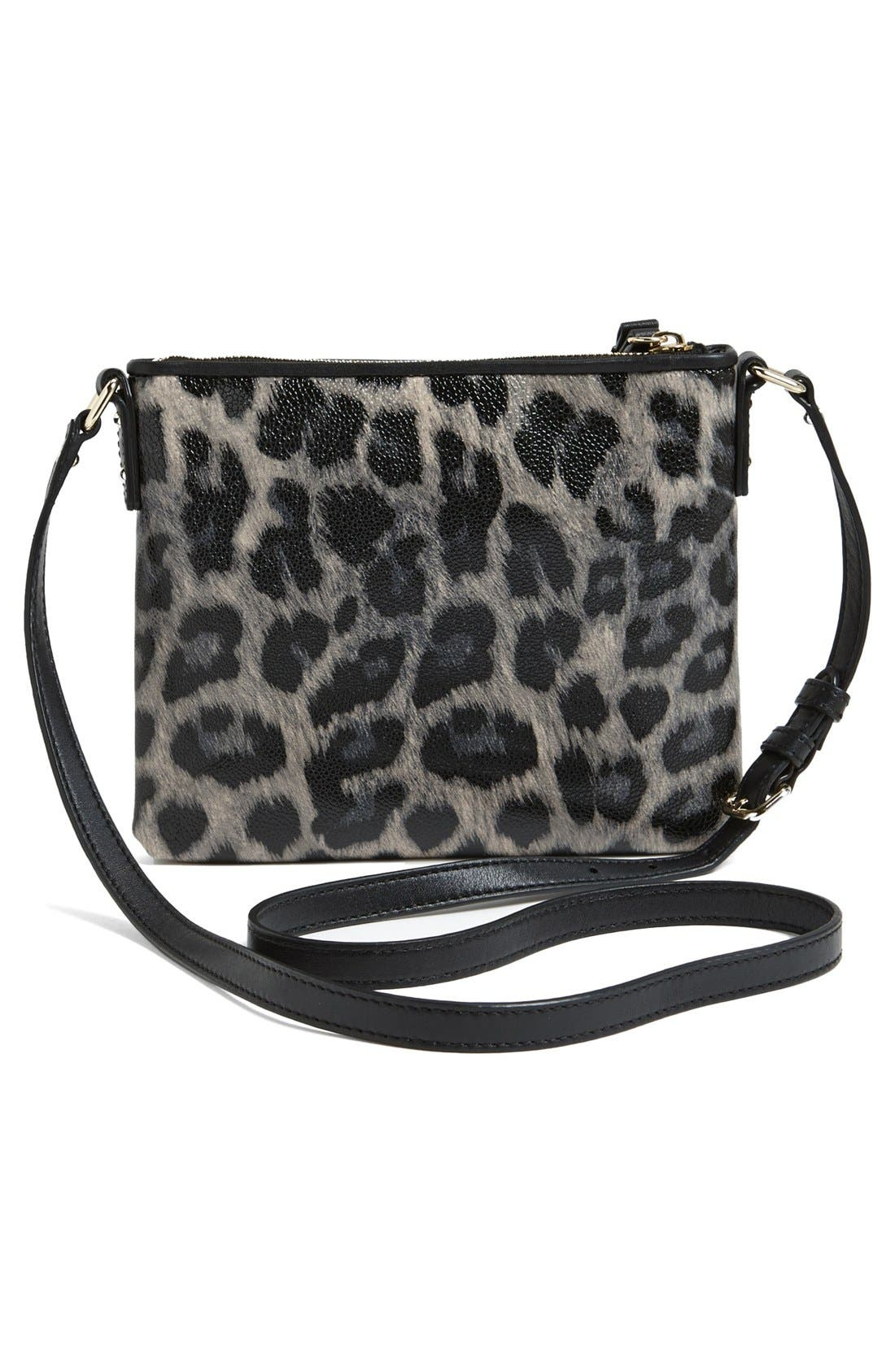 Alternate Image 2  - kate spade new york 'leroy street - animal print tenley' crossbody bag