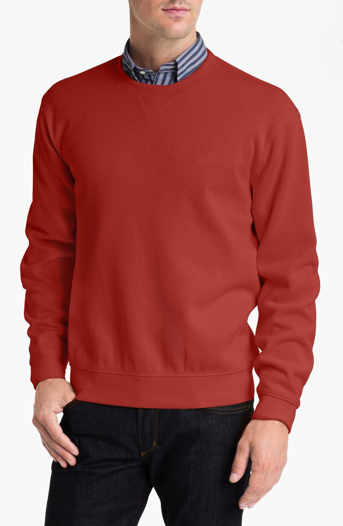 Main Image - Façonnable Crewneck Regular Fit Sweatshirt