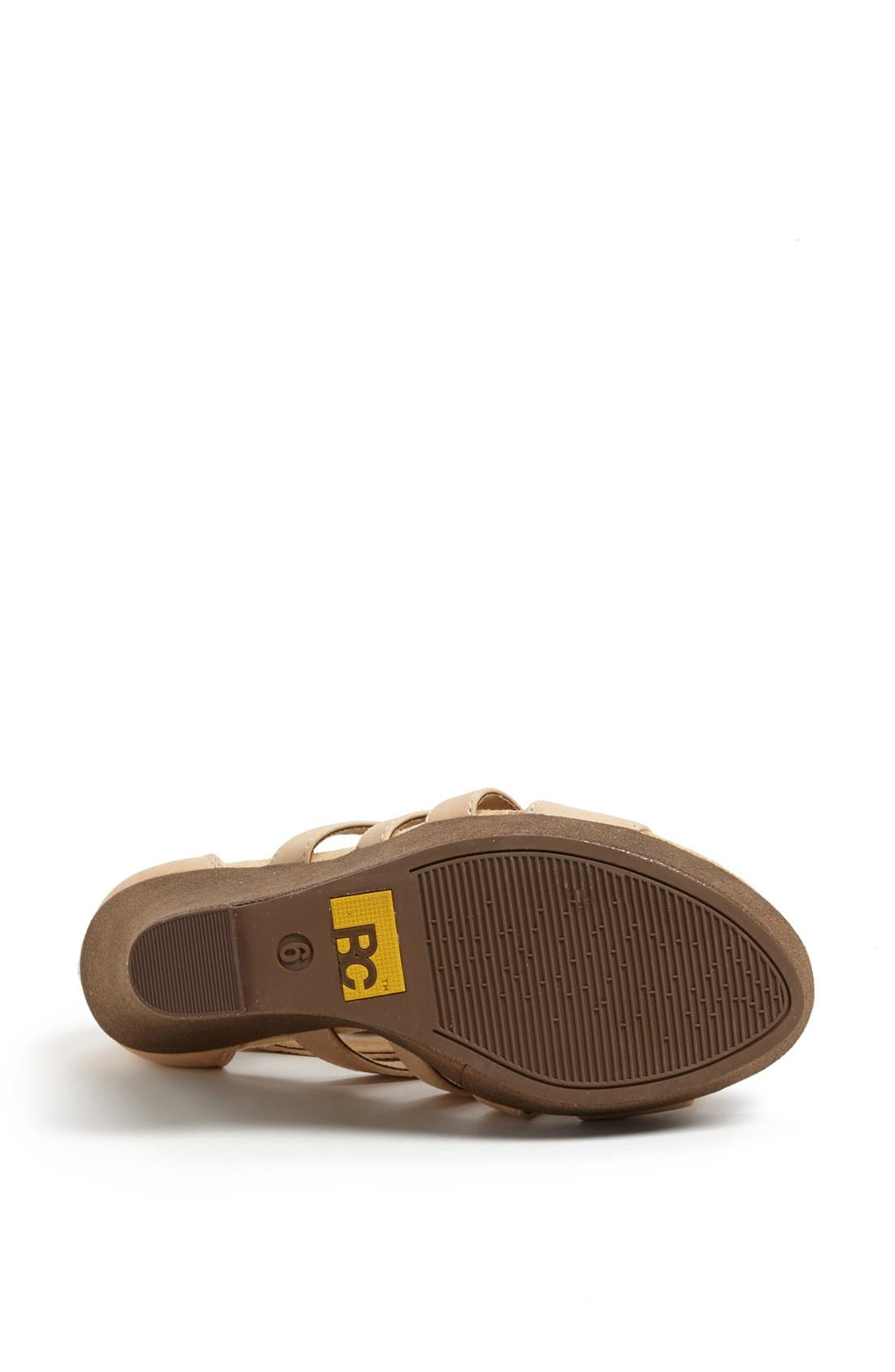 Alternate Image 4  - BC Footwear 'Tell You What' Wedge Sandal