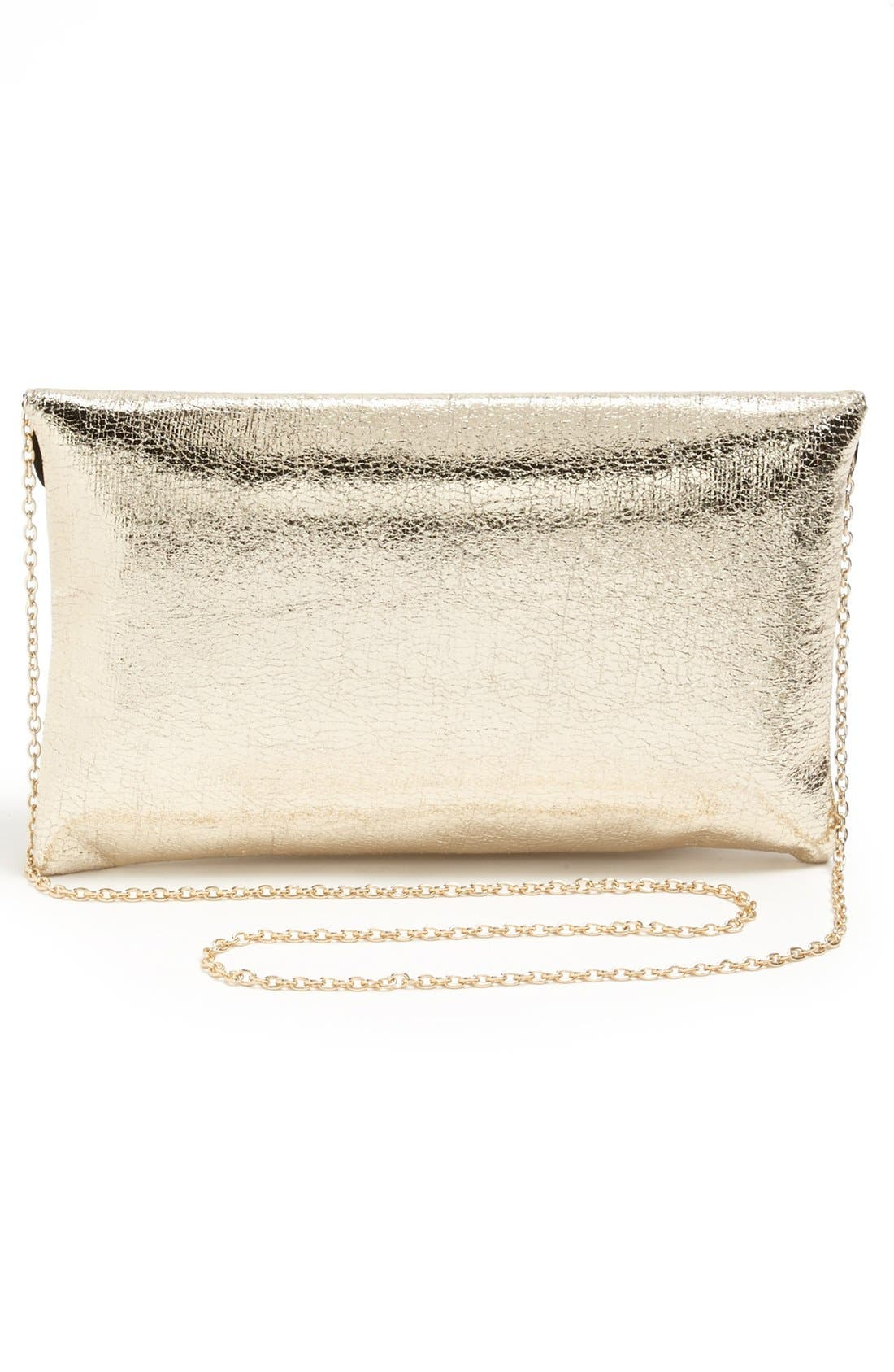 Alternate Image 3  - Expressions NYC 'Crackle' Envelope Clutch