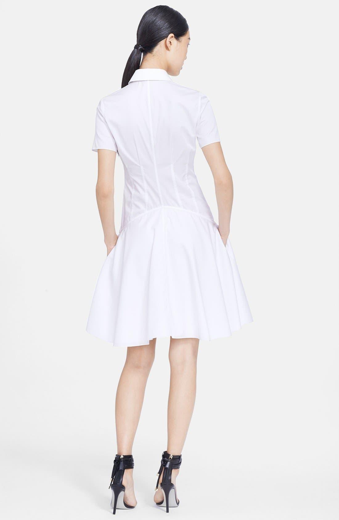 Alternate Image 2  - Jason Wu Poplin Fit & Flare Shirtdress