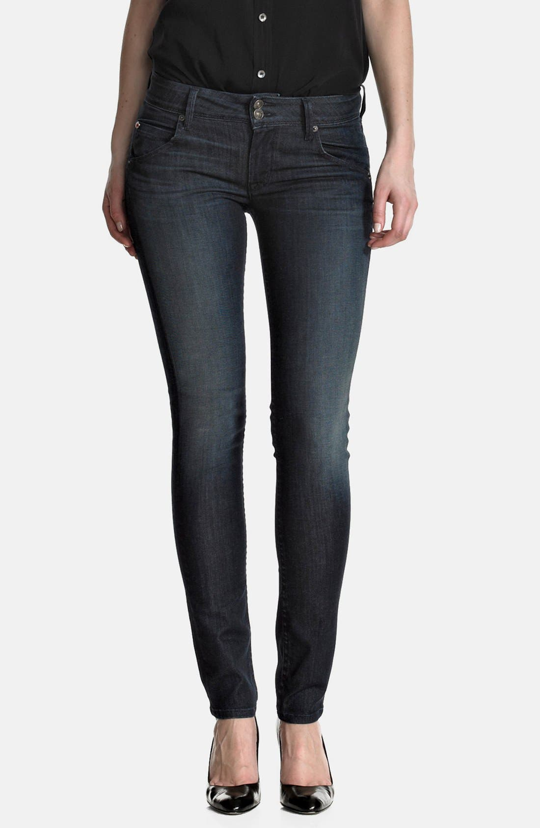 Main Image - Hudson Jeans 'Collin' Skinny Jeans (Siouxsie)
