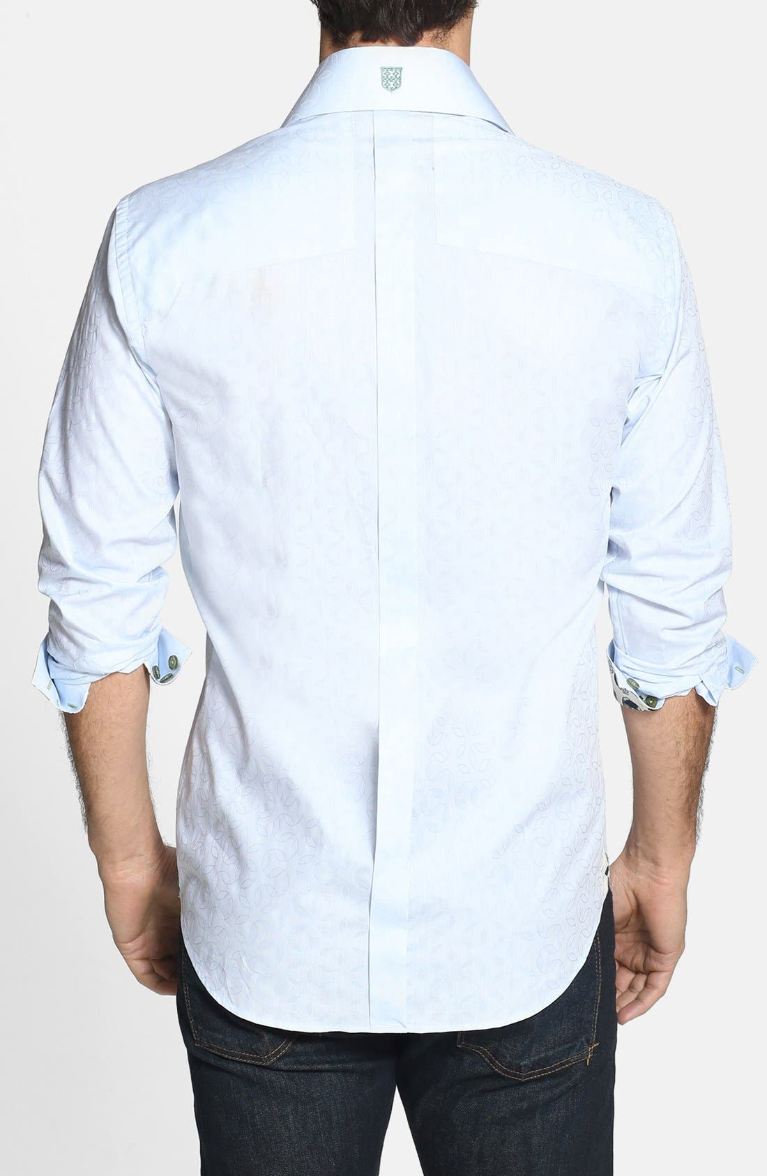 Alternate Image 2  - Bogosse 'D-Mateo' Trim Fit Sport Shirt