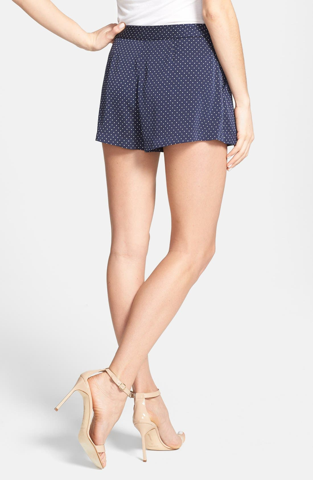 Alternate Image 2  - Joie 'Palina' Polka Dot Silk Shorts