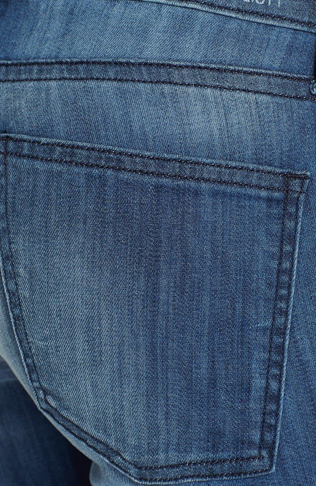 Alternate Image 3  - Current/Elliott 'The Stiletto' Skinny Jeans (Sunfade)