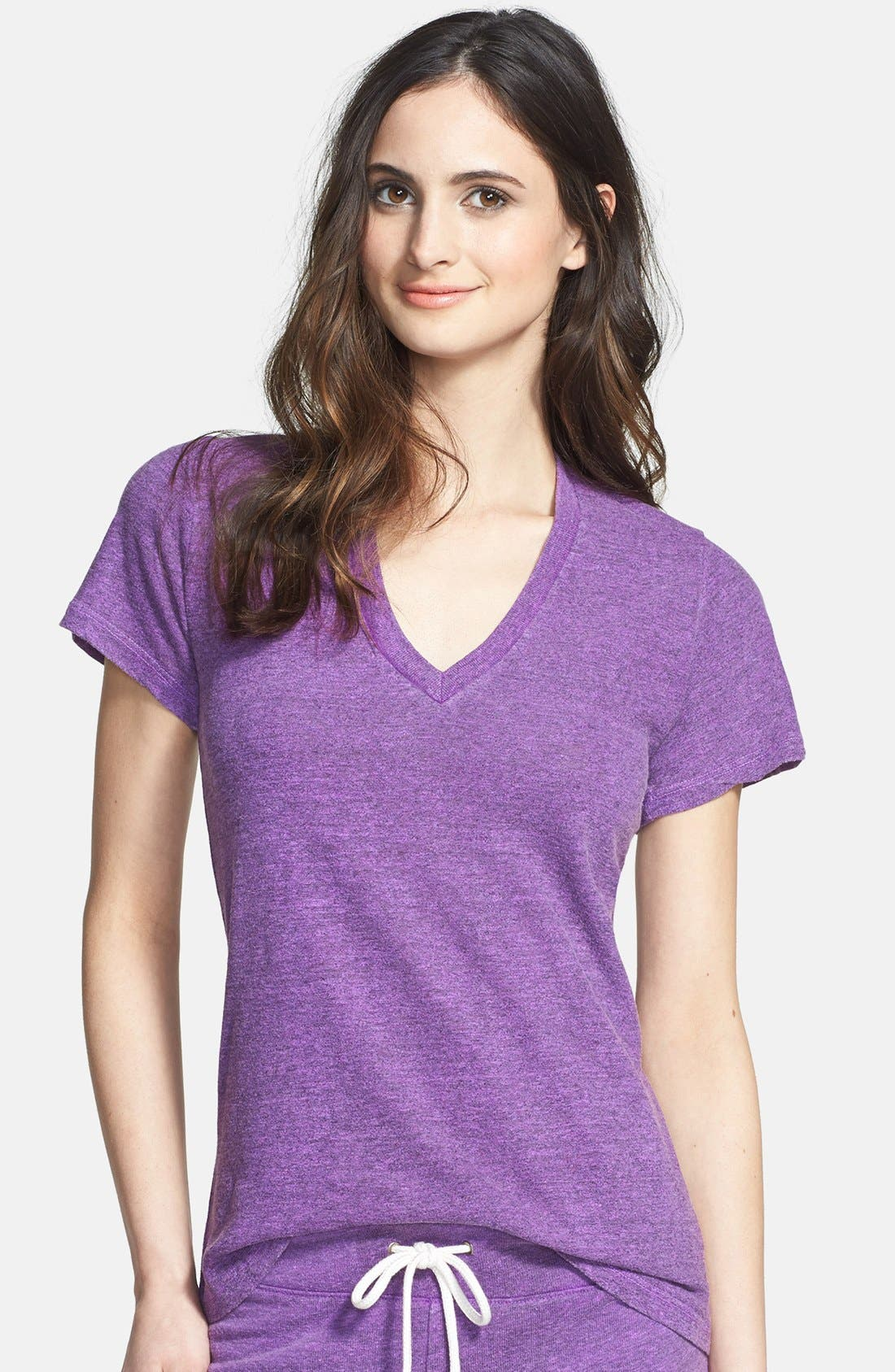 Alternate Image 1 Selected - Monrow V-Neck Lounge Tee