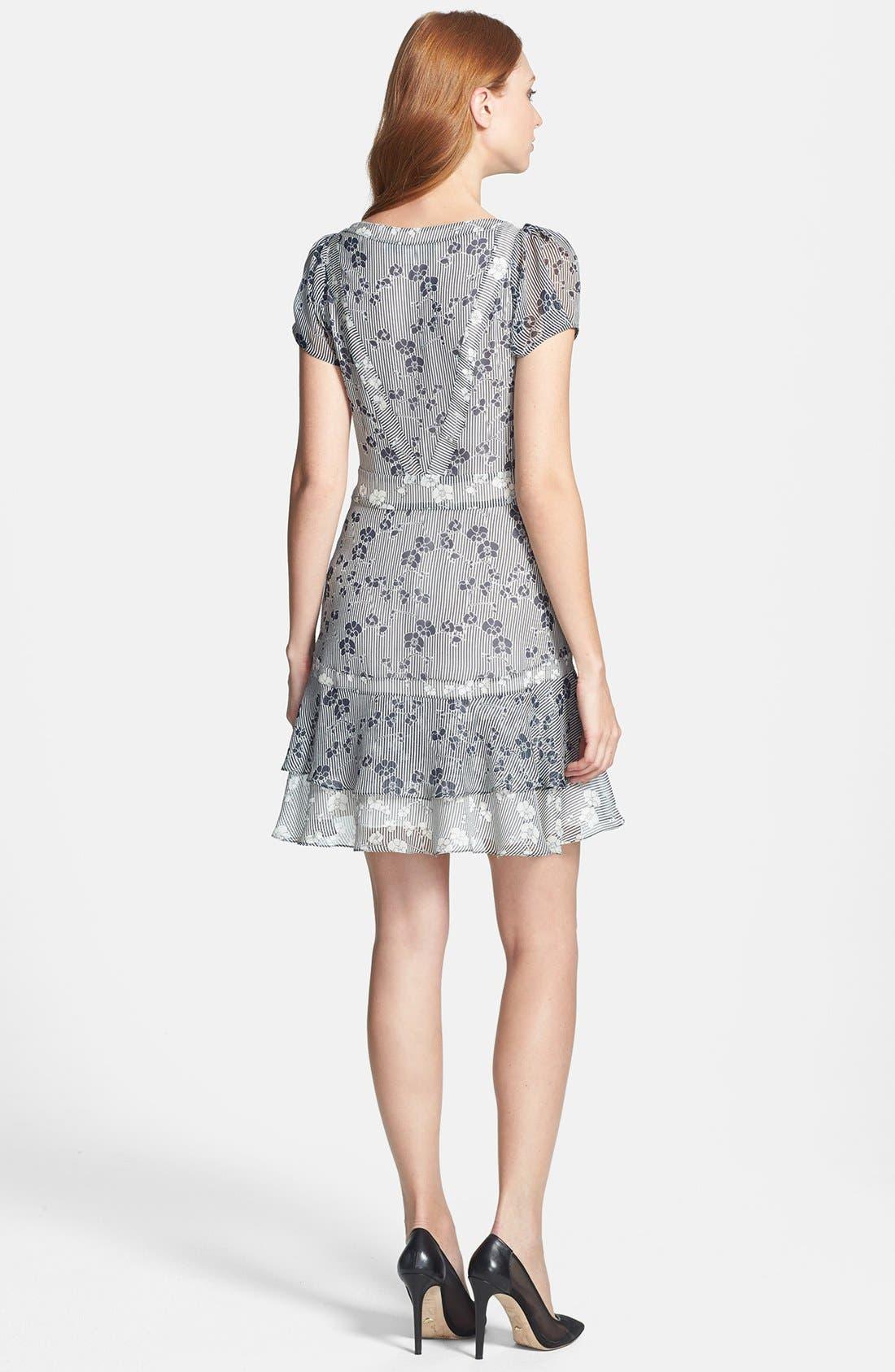 Alternate Image 2  - Diane von Furstenberg 'Heidi' Print Silk A-Line Dress