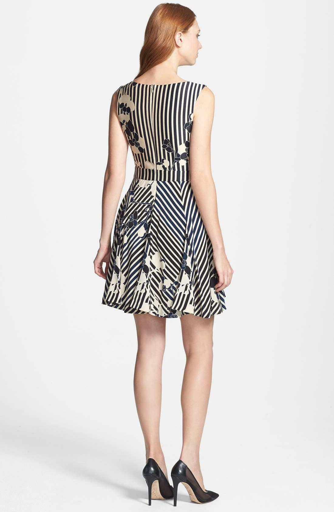 Alternate Image 3  - Diane von Furstenberg 'Kiman' Print Wool Blend A-Line Dress