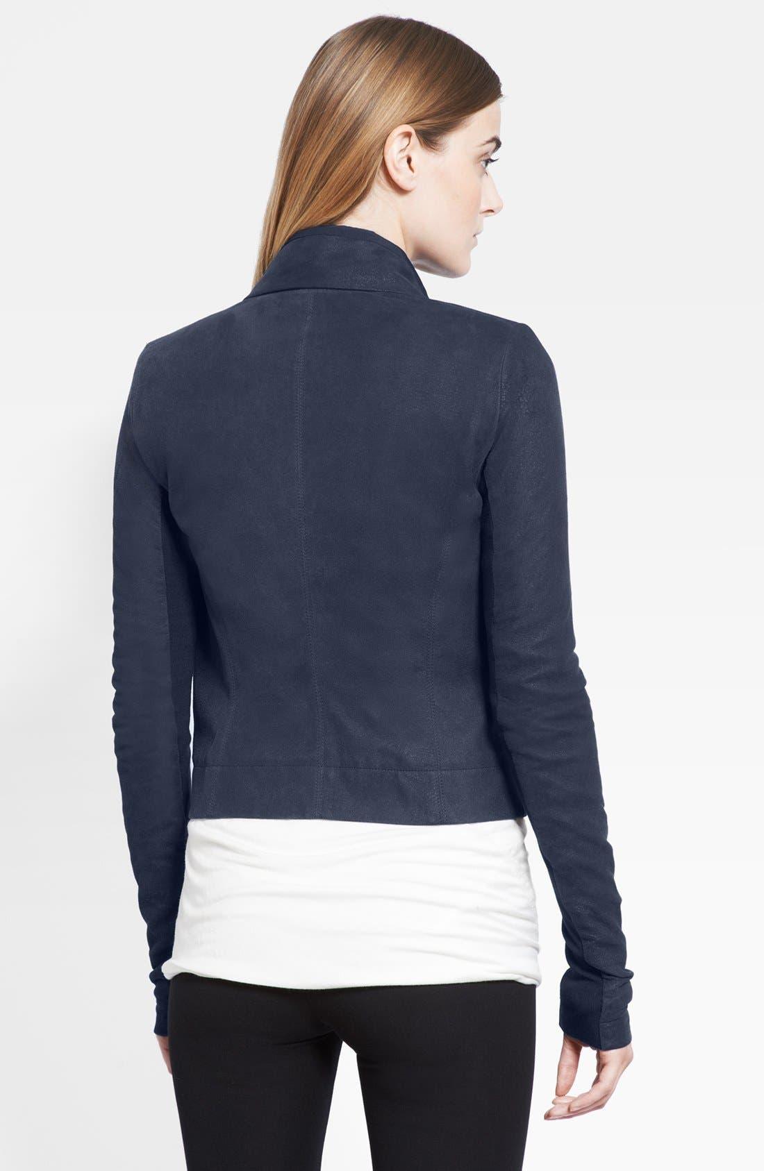 Alternate Image 2  - Rick Owens Leather Jacket