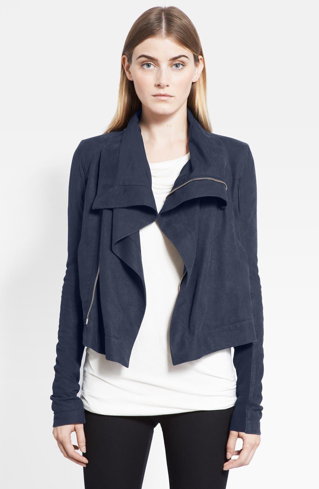 Main Image - Rick Owens Leather Jacket