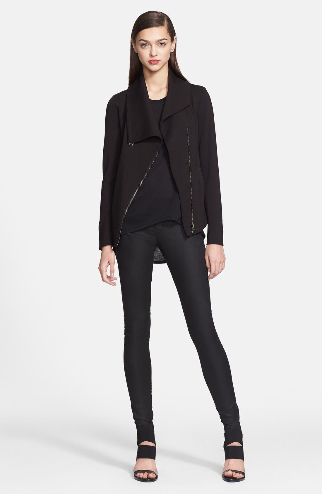 Alternate Image 3  - Helmut Lang 'Villous' Zip Front Sweatshirt
