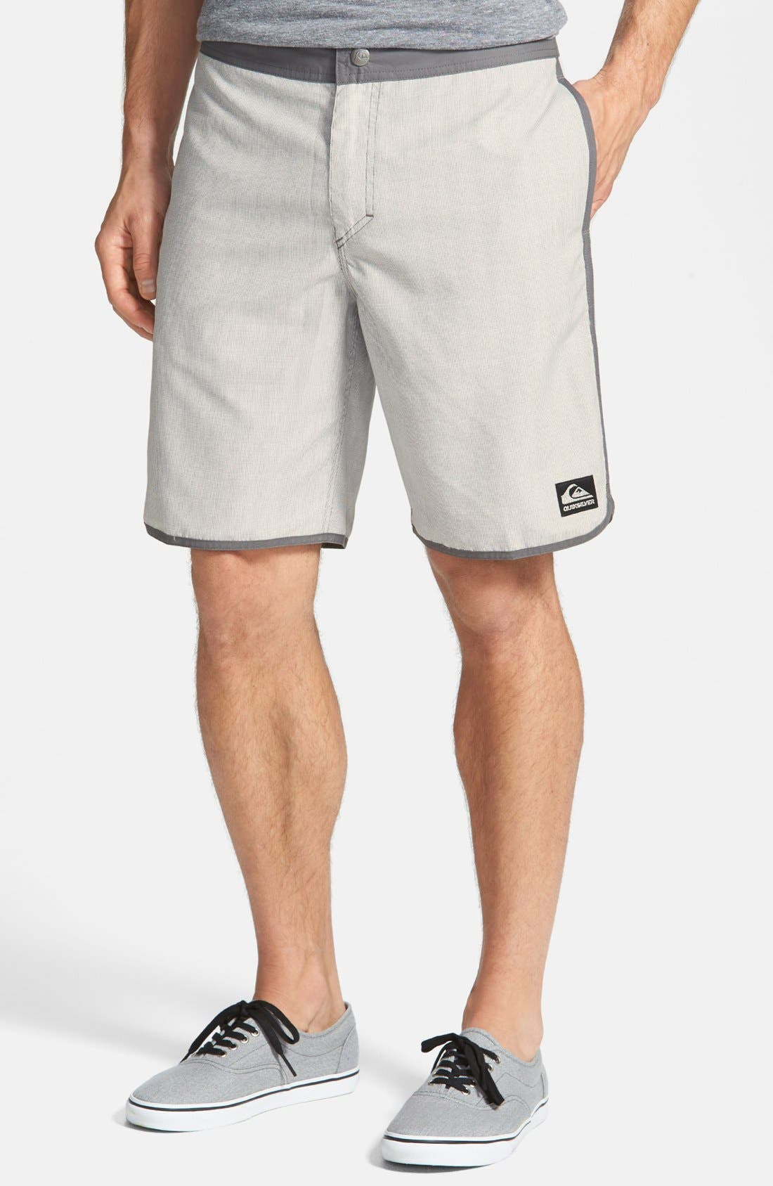 Alternate Image 1 Selected - Quiksilver 'Scallopuss' Board Shorts