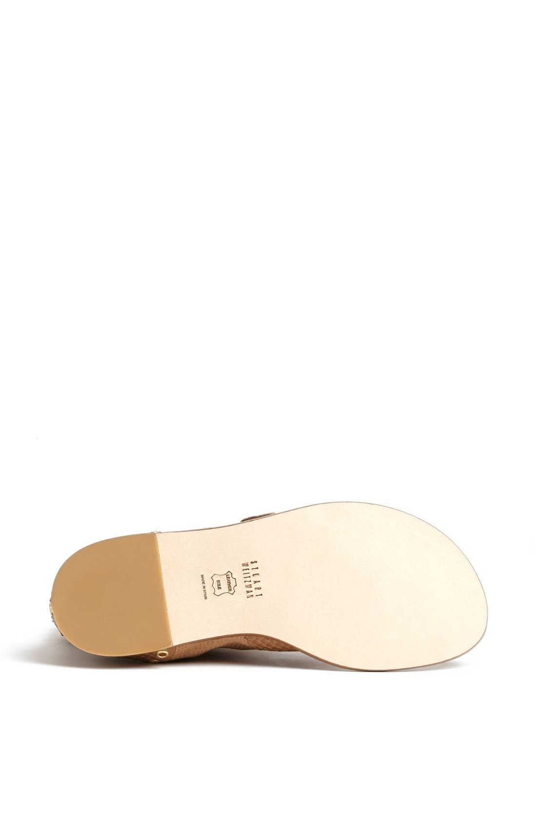 Alternate Image 3  - Stuart Weitzman 'Champion' Flat Sandal
