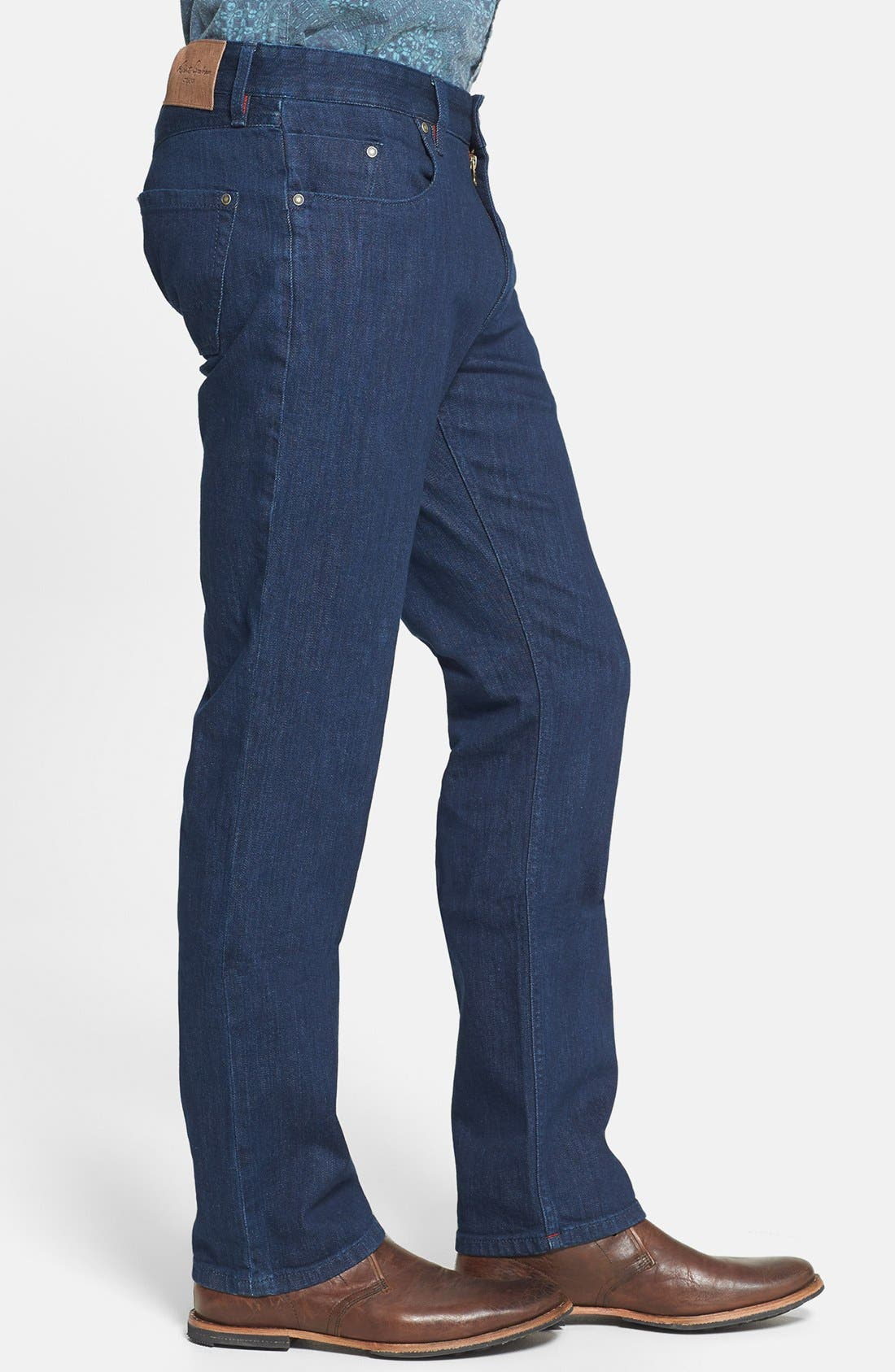 Alternate Image 4  - Robert Graham 'Mad Hatter' Classic Fit Straight Leg Jeans