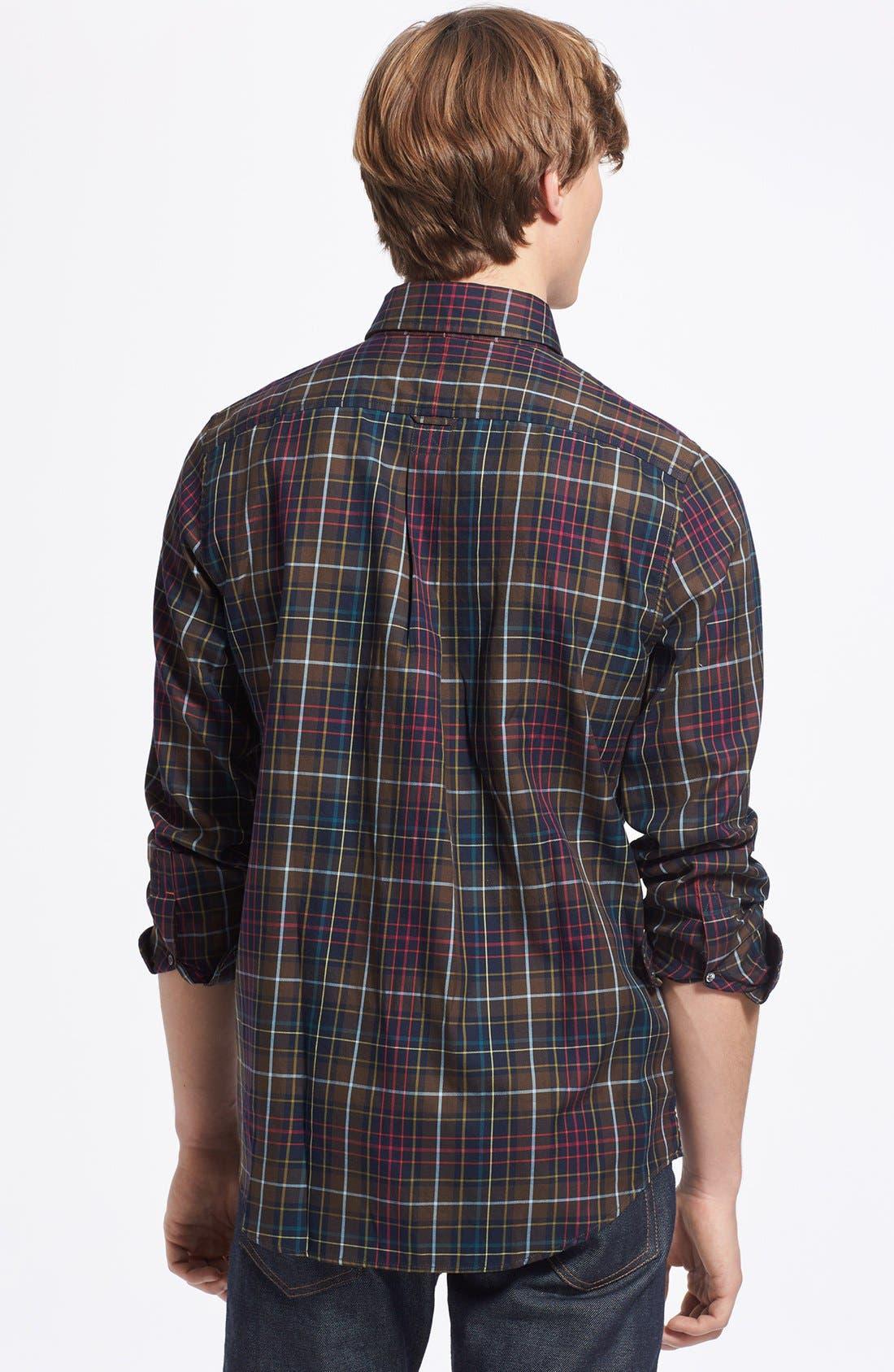 Alternate Image 2  - Jack Spade 'Thetford' Plaid Shirt