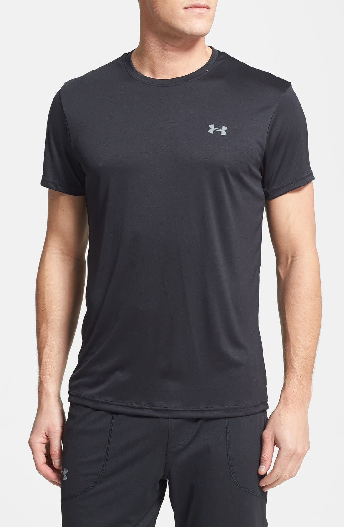 Alternate Image 1 Selected - Under Armour Crewneck HeatGear® T-Shirt (2-Pack)