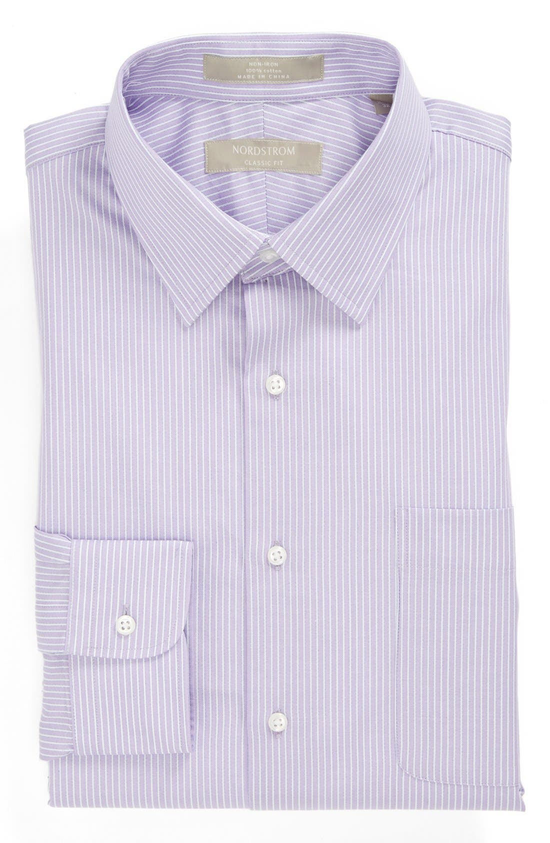 Main Image - Nordstrom Classic Fit Non-Iron Dress Shirt