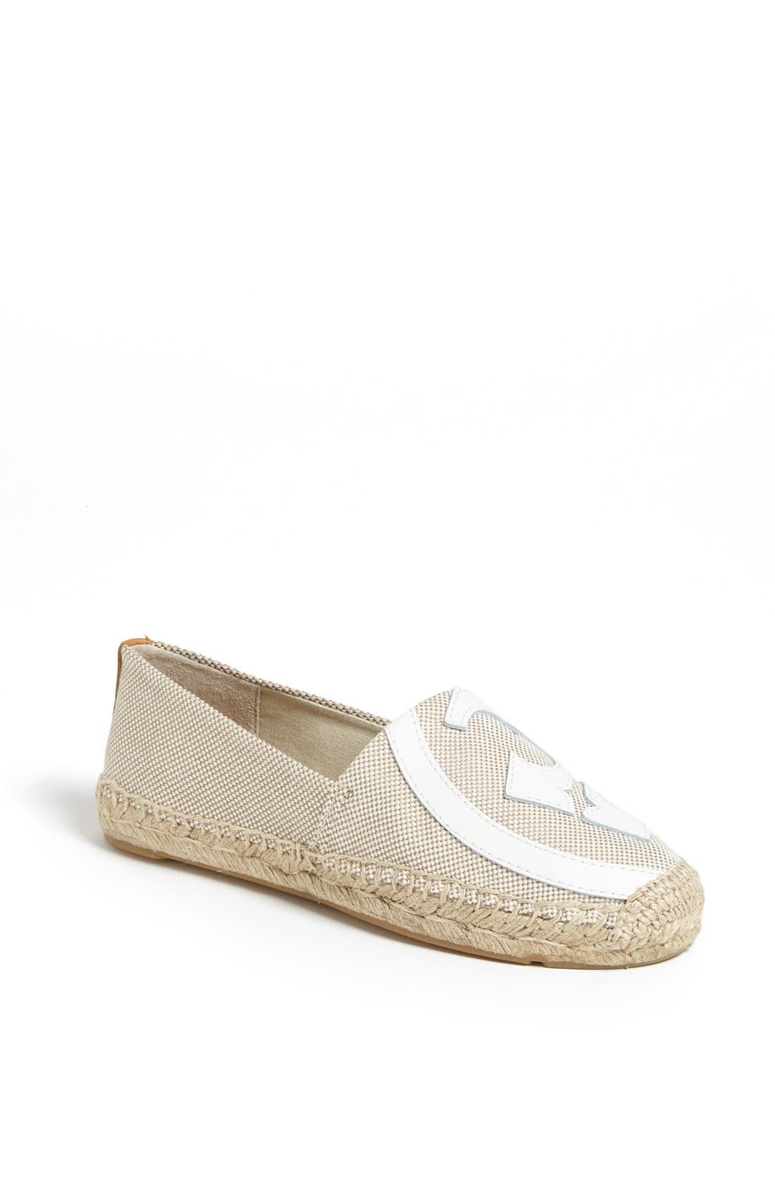 Alternate Image 1 Selected - Tory Burch 'Lonnie' Espadrille Flat