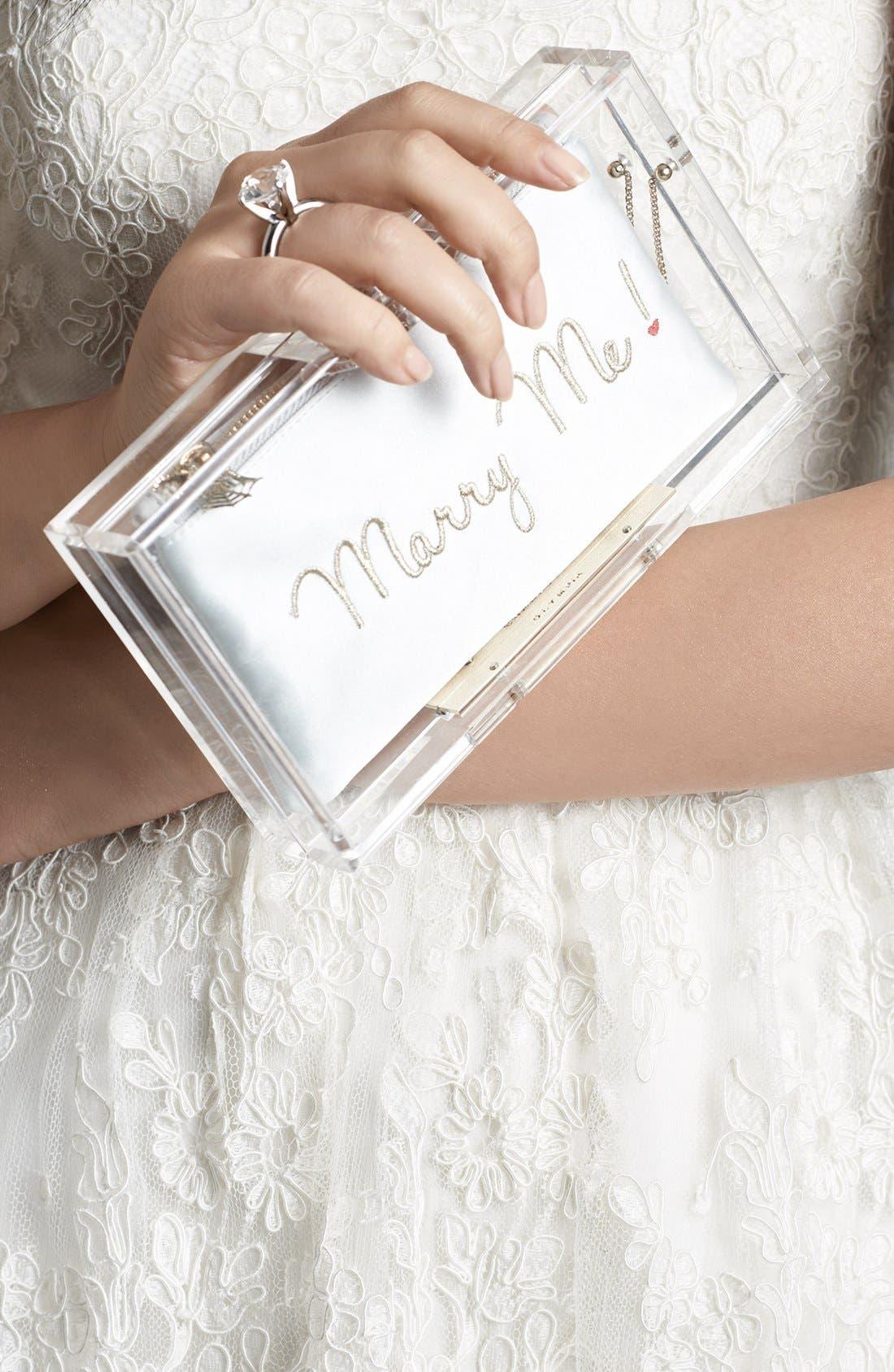 Alternate Image 5  - Charlotte Olympia 'Marry Me Pandora' Clutch