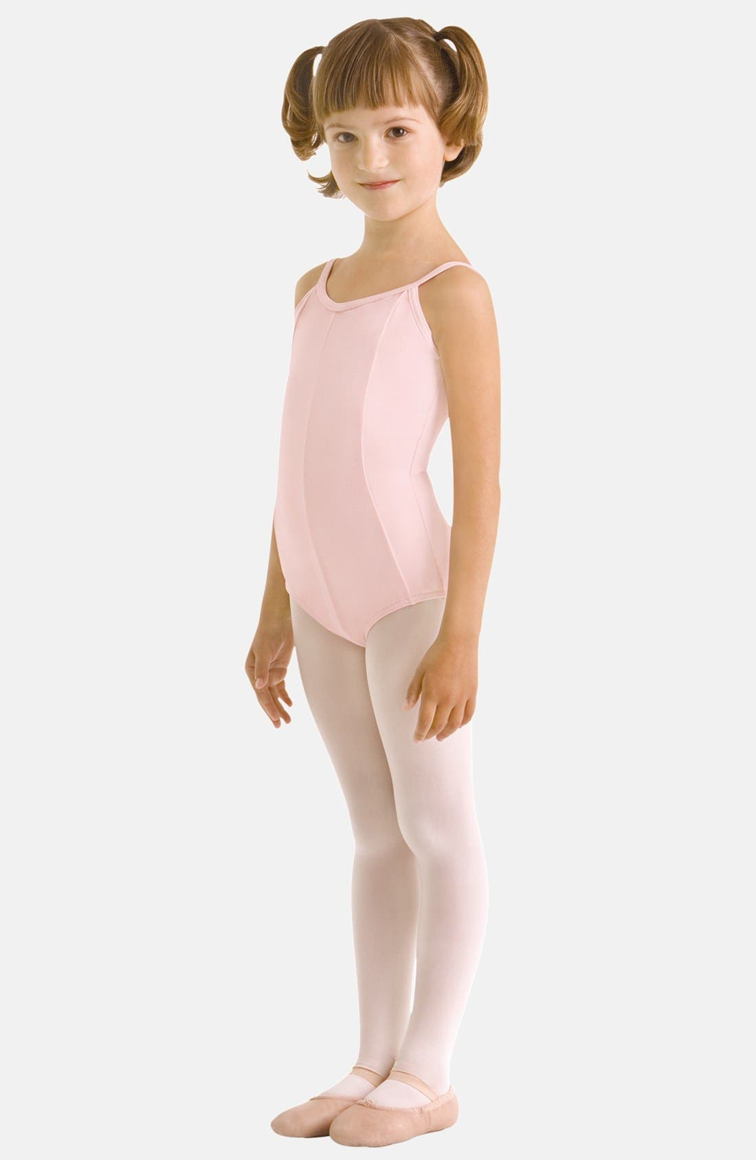 Main Image - Bloch 'Mirella - Seamed' Camisole Leotard (Big Girls)