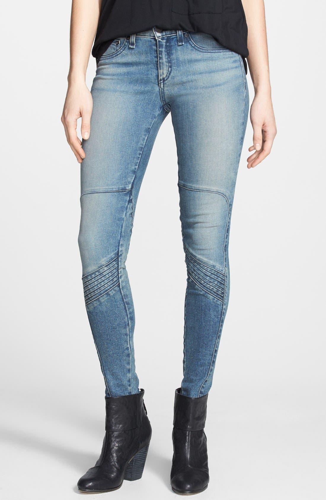 Alternate Image 1 Selected - rag & bone/JEAN 'Samurai Legging' Skinny Jeans (Cardiff)