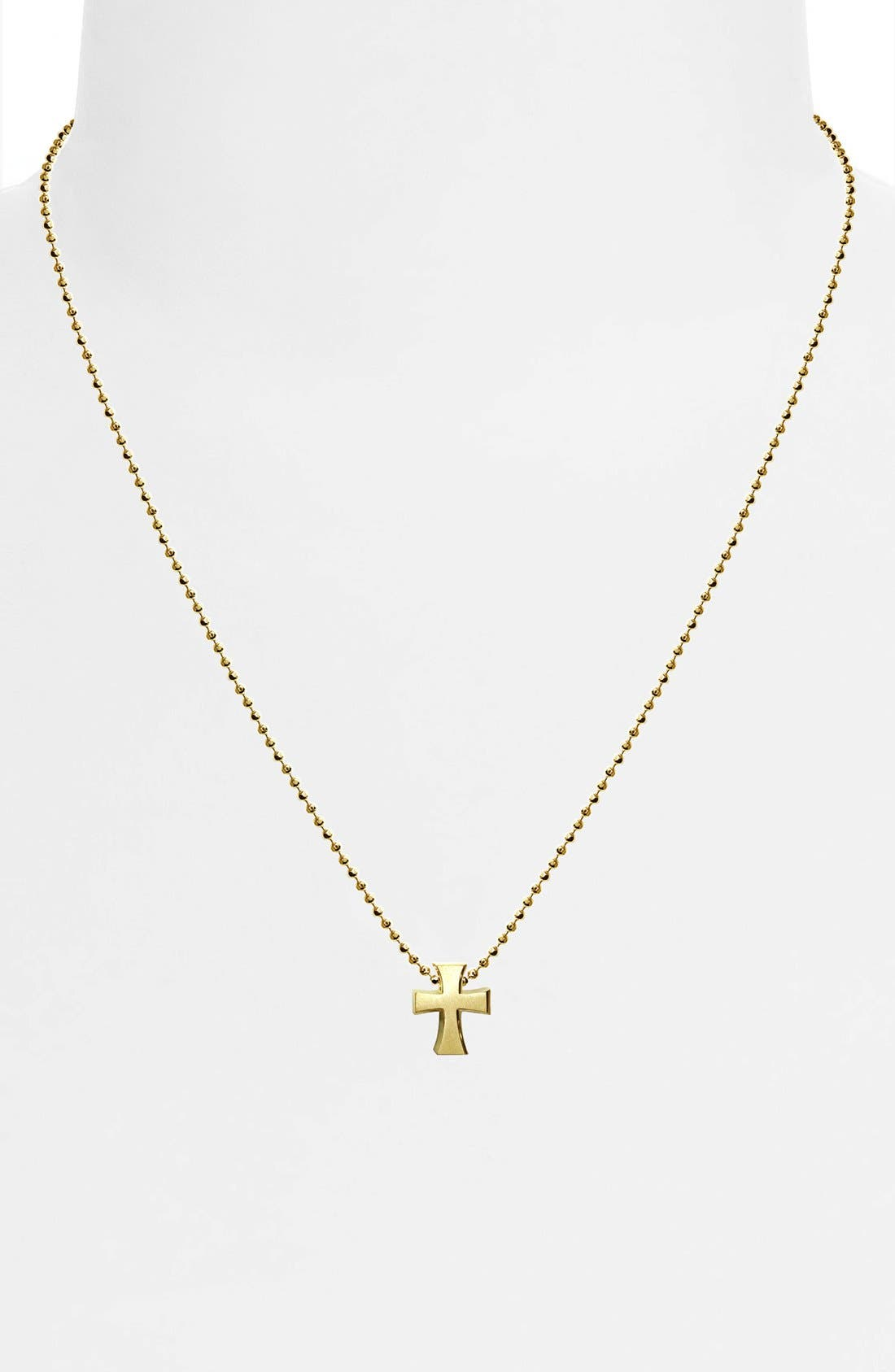 Alternate Image 2  - Alex Woo 'Little Faith' Cross Pendant Necklace