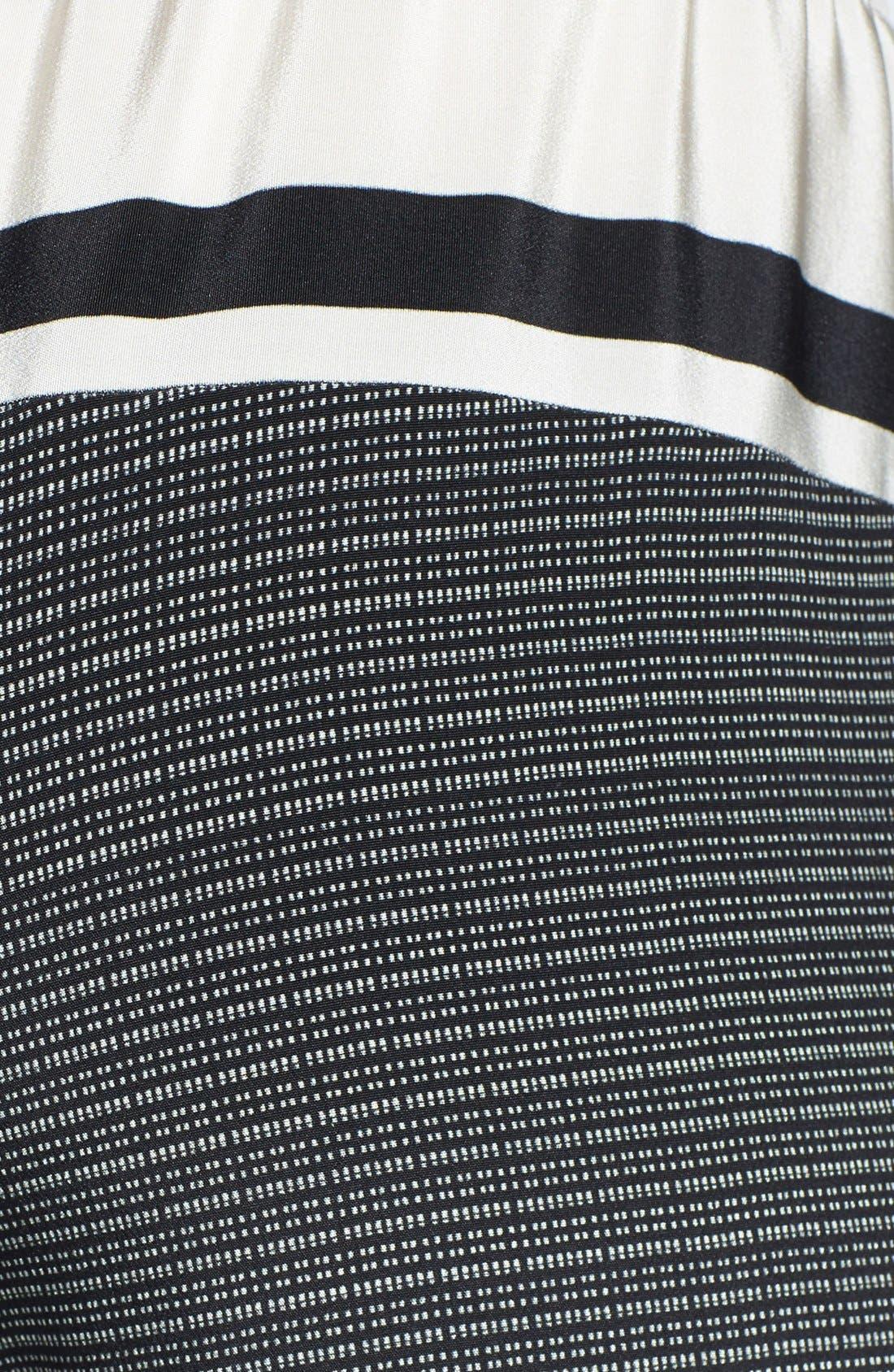 Alternate Image 3  - Vince Print Silk Track Pants