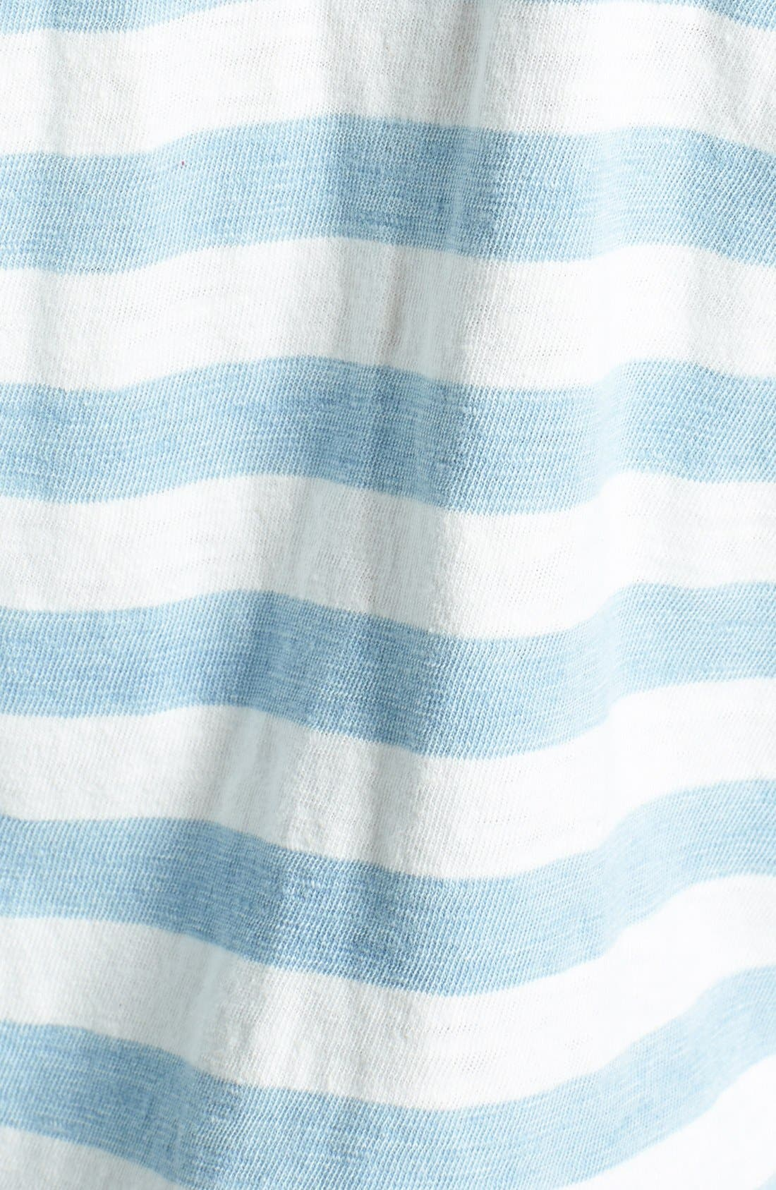Alternate Image 3  - Splendid Stripe Dolman Sleeve Cotton Top