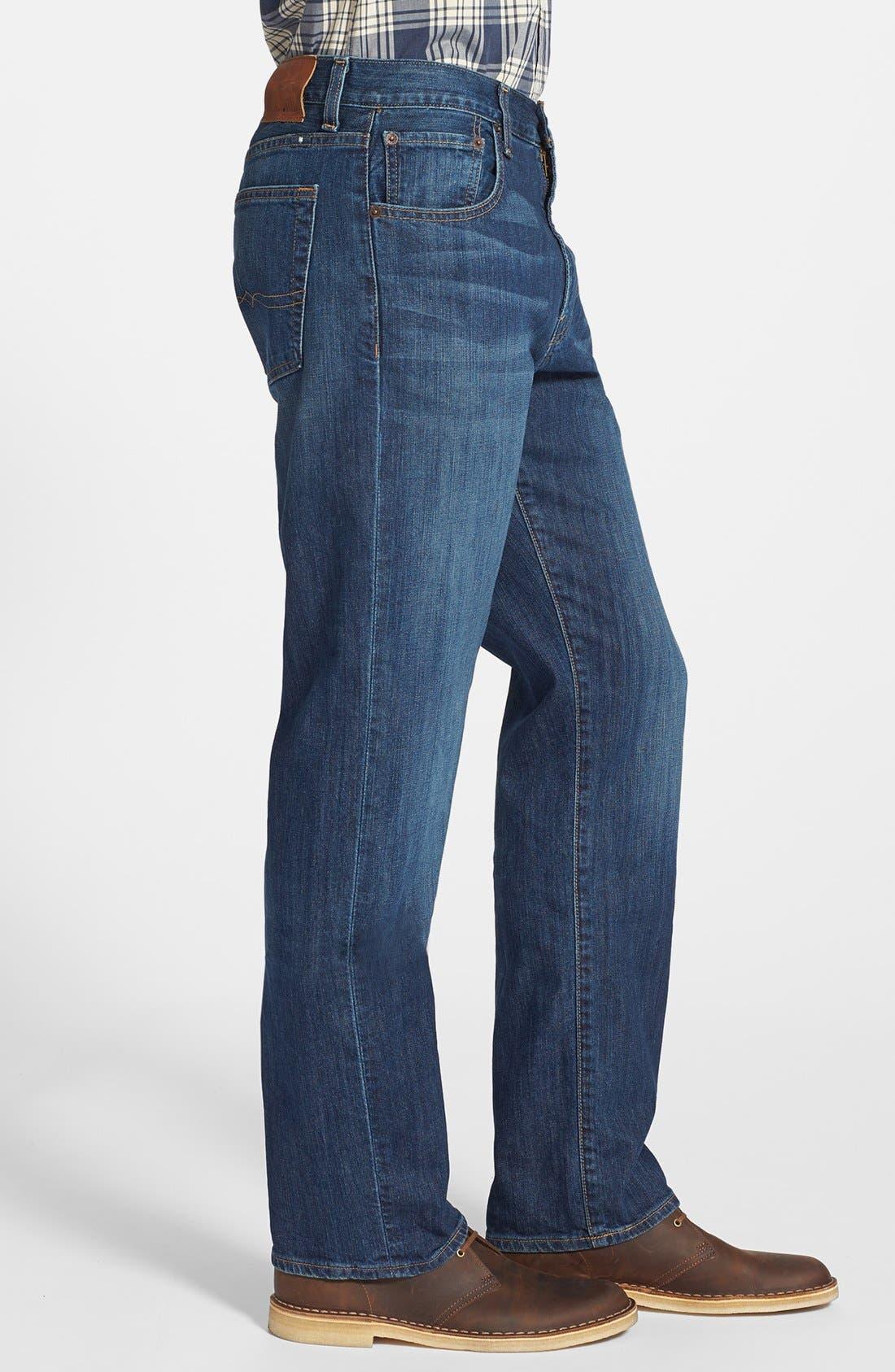 Alternate Image 3  - Lucky Brand '481' Relaxed Fit Jeans (Mazatlan)