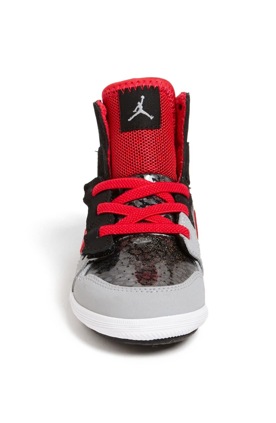 Alternate Image 3  - Nike 'Jordan 1 Skinny High' Sneaker (Baby, Walker & Toddler)