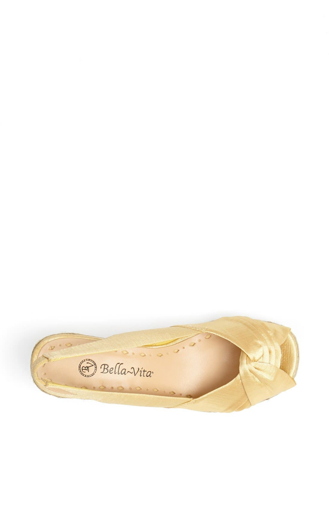 Alternate Image 3  - Bella Vita 'Sangria' Peep Toe Wedge Espadrille