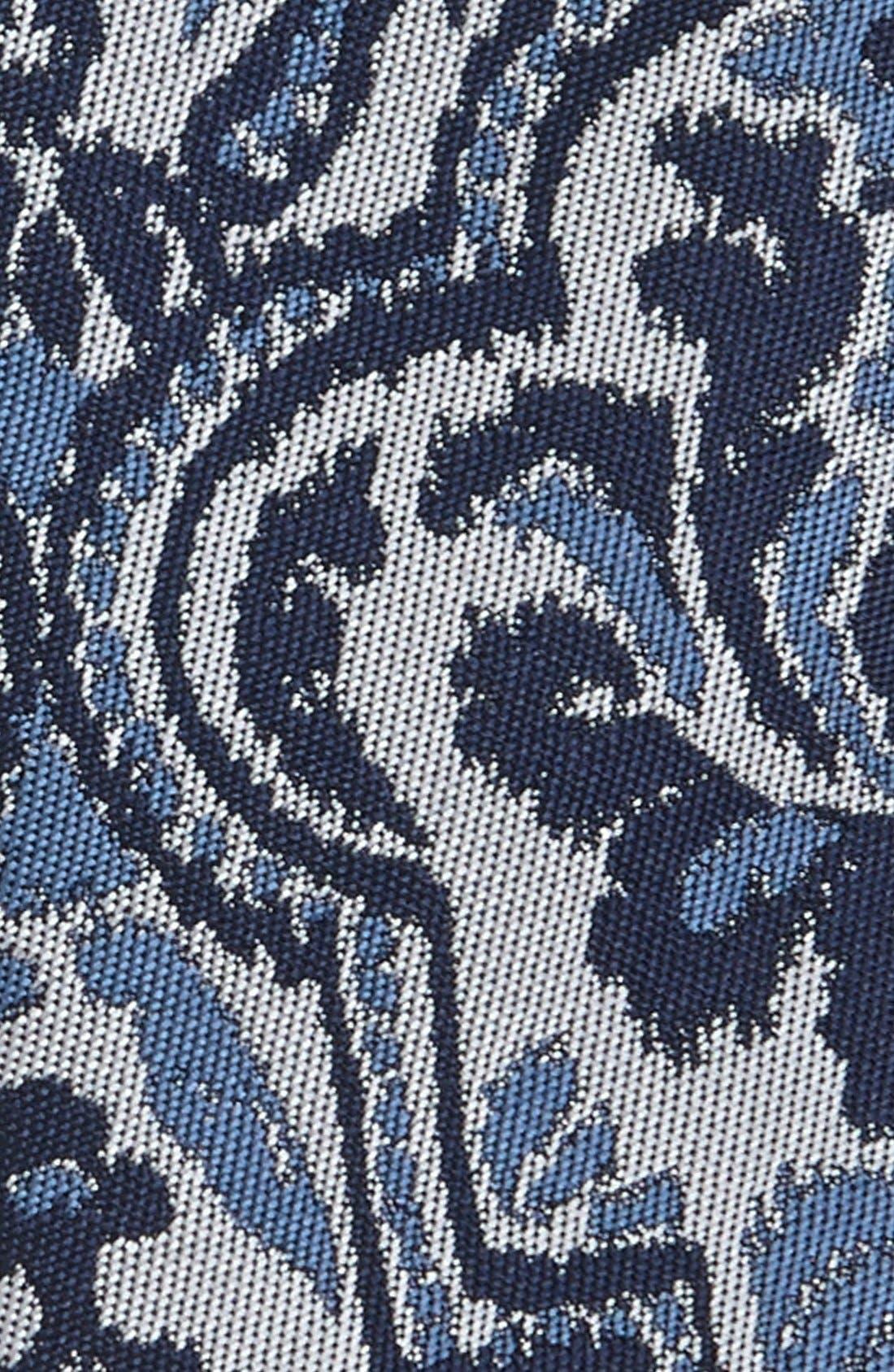 Alternate Image 2  - Topman Paisley Tie
