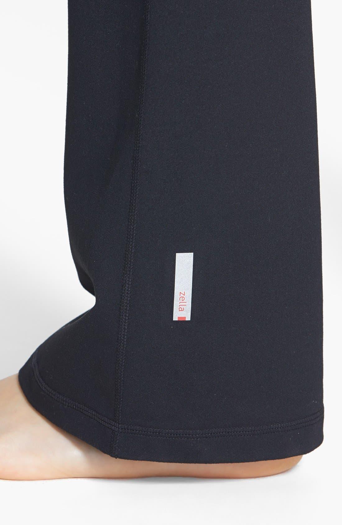 Alternate Image 4  - Zella 'Barely Flare Booty' Pants