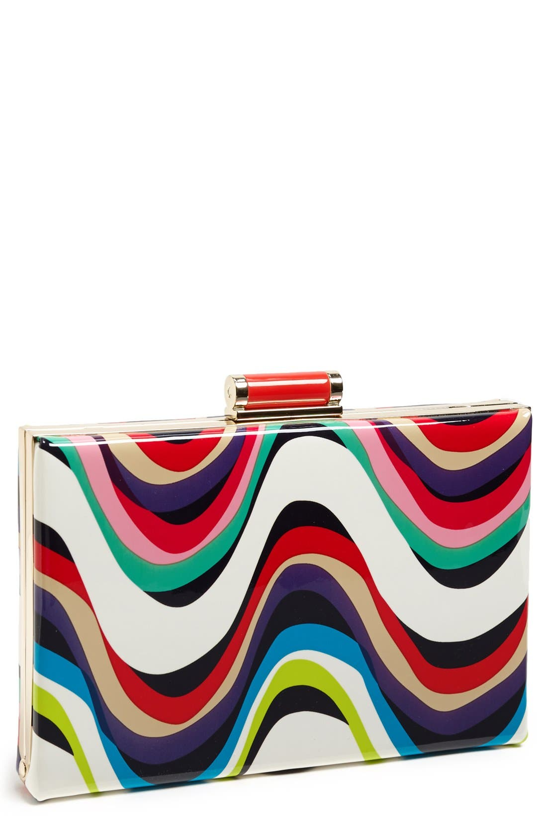 Main Image - kate spade new york 'miss penny's - emanuelle' frame clutch