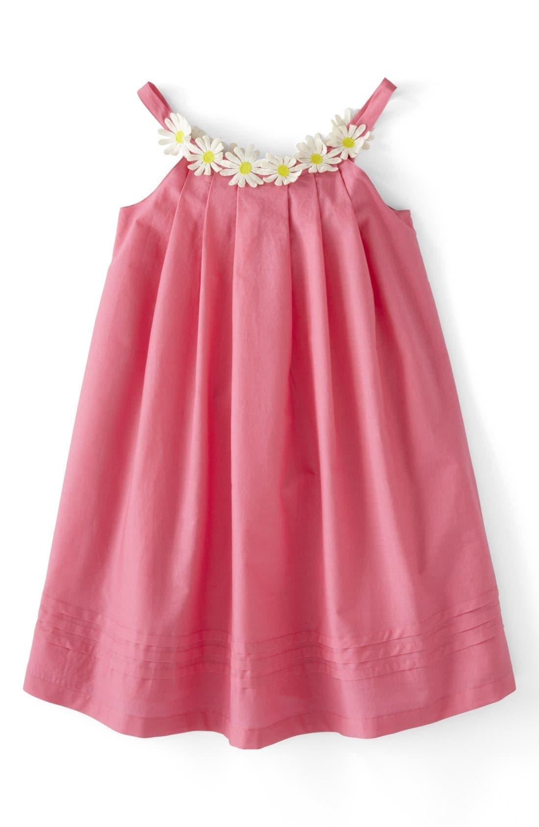 Alternate Image 1 Selected - Mini Boden 'Daisy' Summer Dress (Toddler Girls, Little Girls & Big Girls)