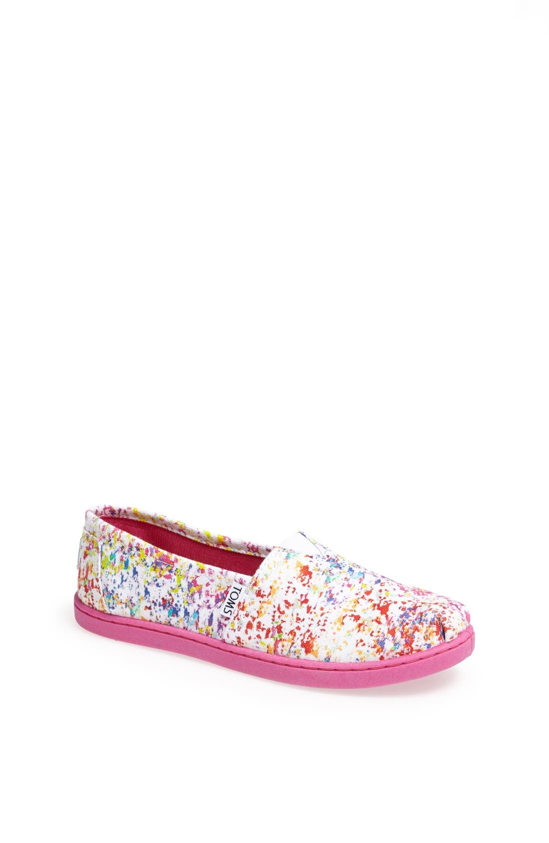 Main Image - TOMS CLASSIC YOUTH SLIP ON