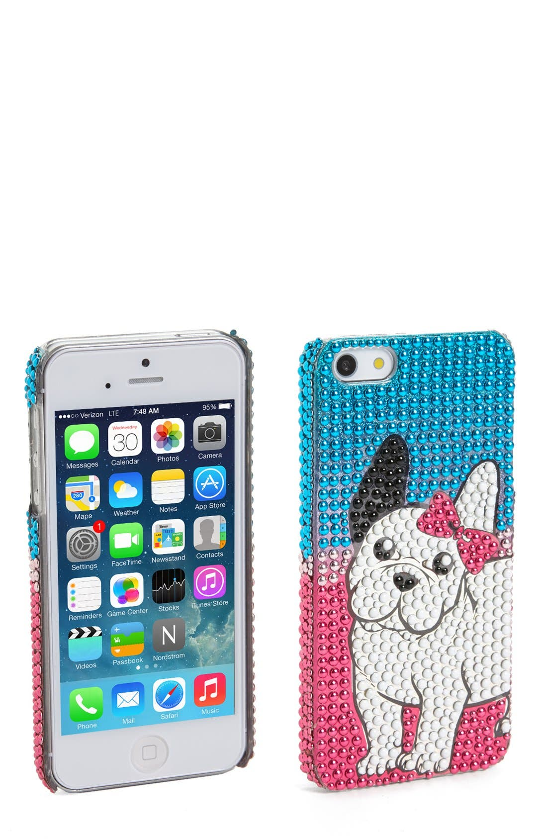 Main Image - Tri-Coastal Design Dog iPhone 5 & 5S Case (Juniors) (Online Only)