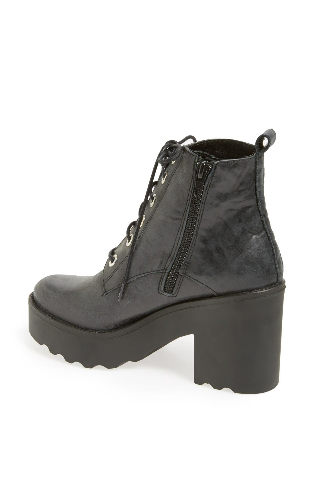 Alternate Image 2  - Topshop 'Apples' Chunky Platform Bootie