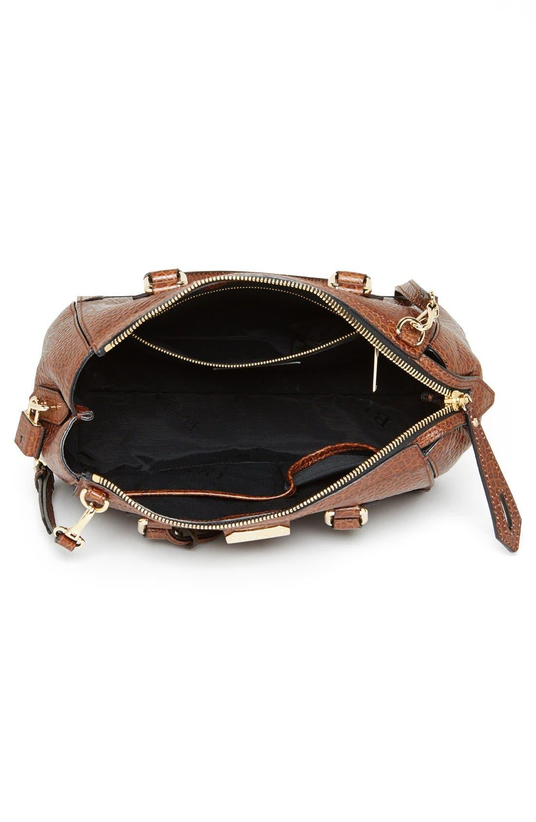 Alternate Image 3  - Burberry 'Small Gladstone' Leather Satchel