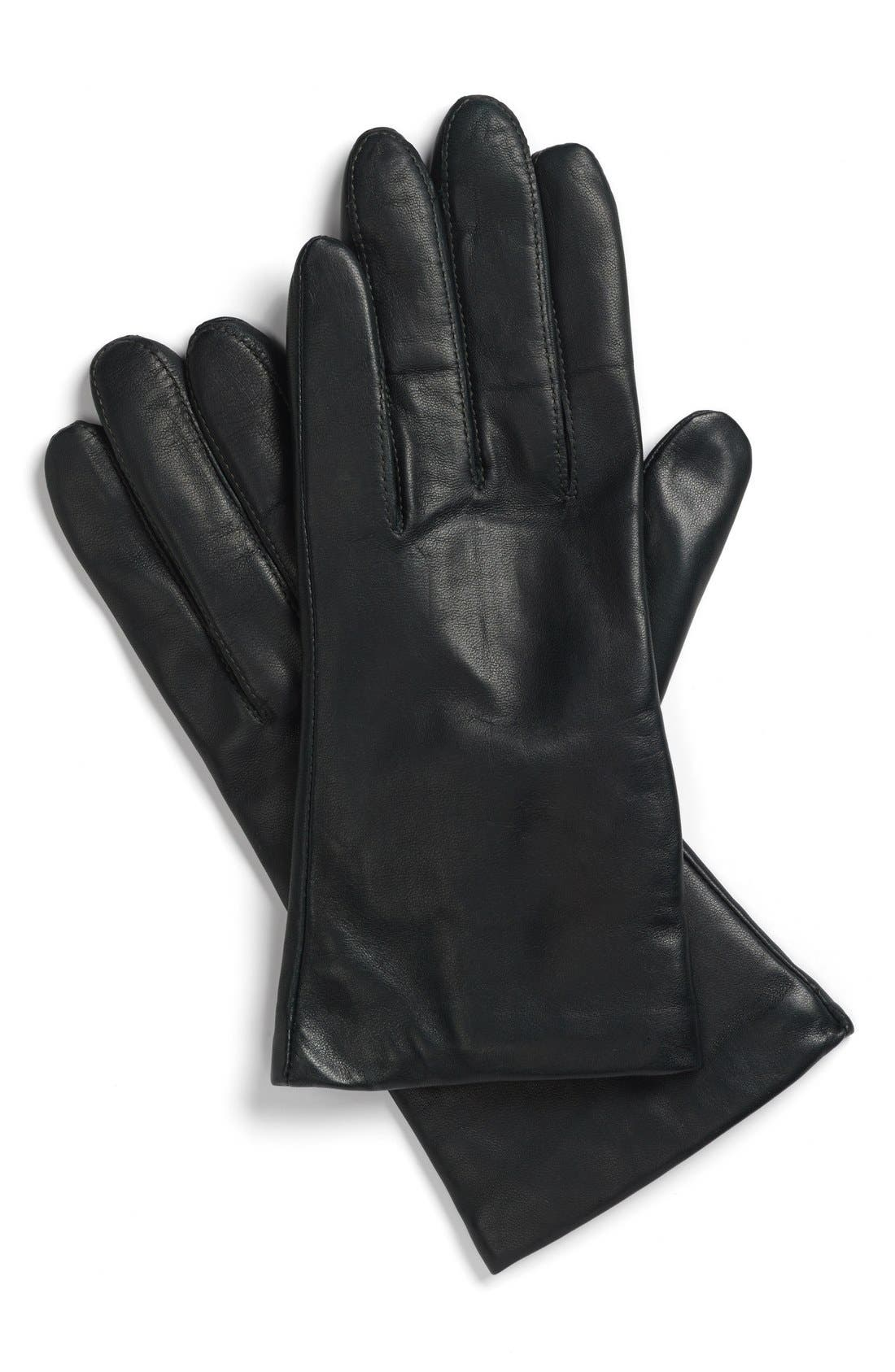 Main Image - Fownes Brothers Cashmere Lined Leather Gloves