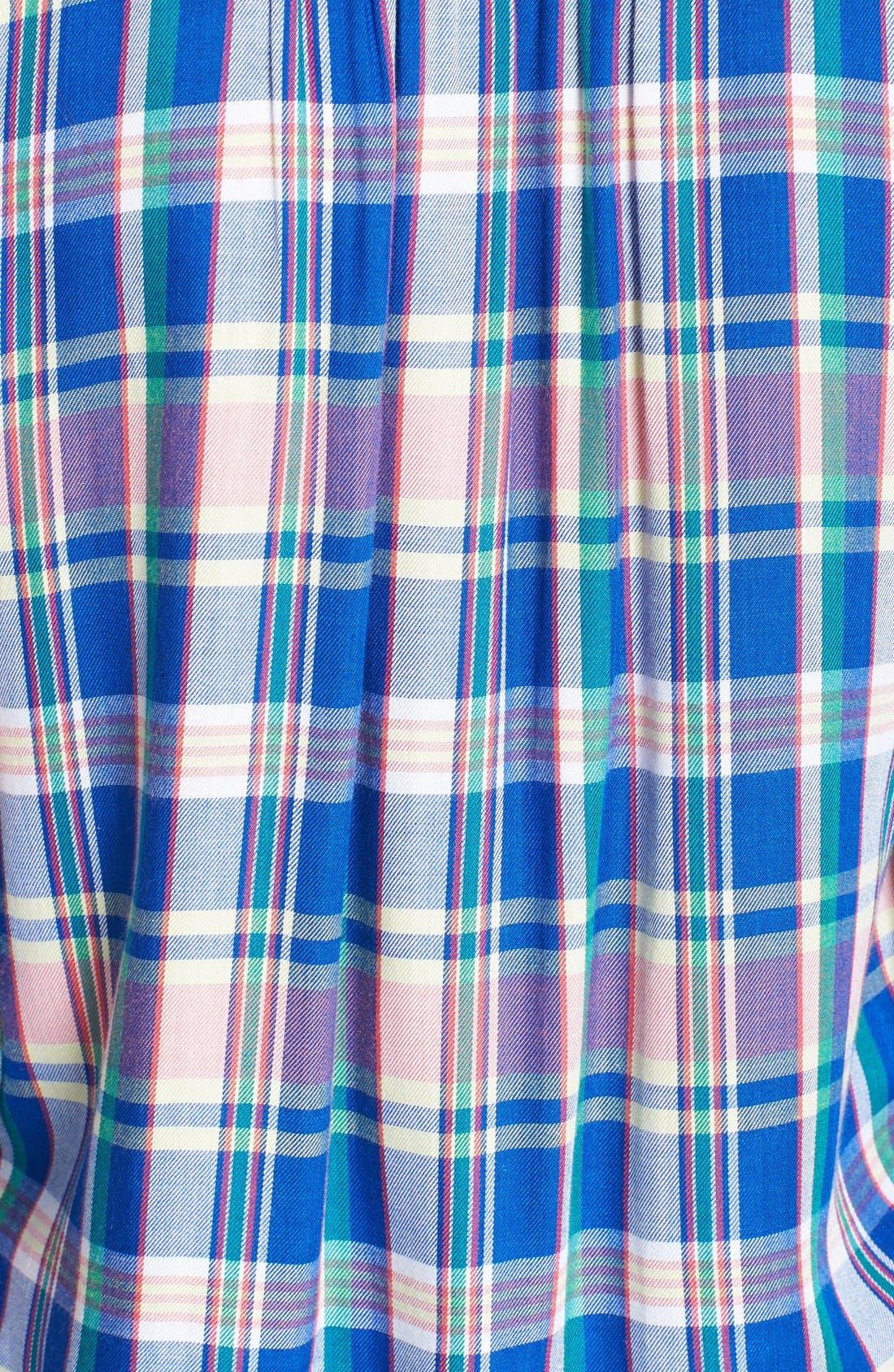 Alternate Image 3  - C & C California Welt Pocket Plaid Tunic Shirt