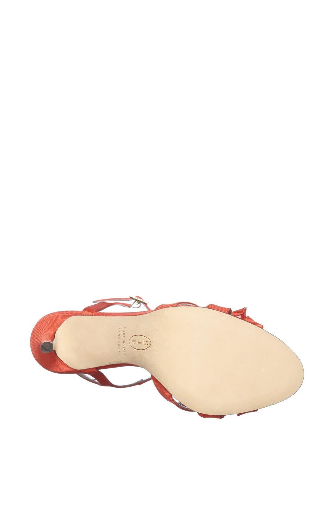 Alternate Image 4  - SJP 'Silvia' Grosgrain Ankle Strap Sandal (Nordstrom Exclusive)