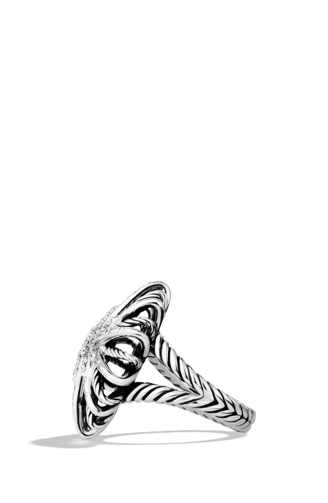 Alternate Image 2  - David Yurman 'Starburst' Ring with Diamonds