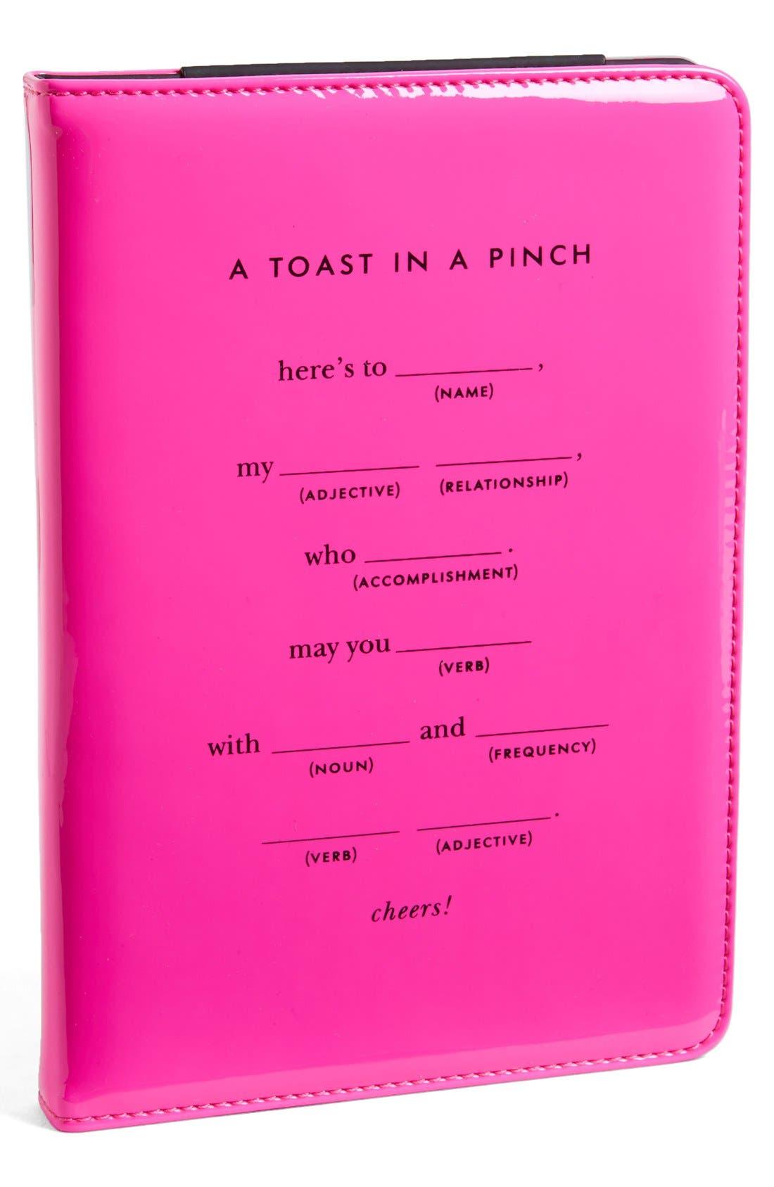 Main Image - kate spade new york 'toast in a pinch' iPad mini folio