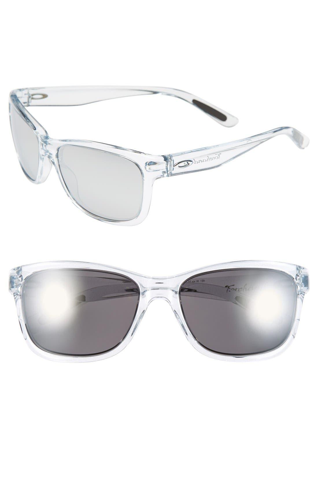 Main Image - Oakley 'Forehand' 57mm Sunglasses