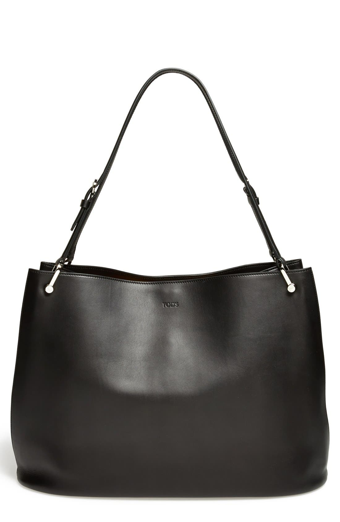 Main Image - Tod's 'Borse - Grande' Leather Shopper
