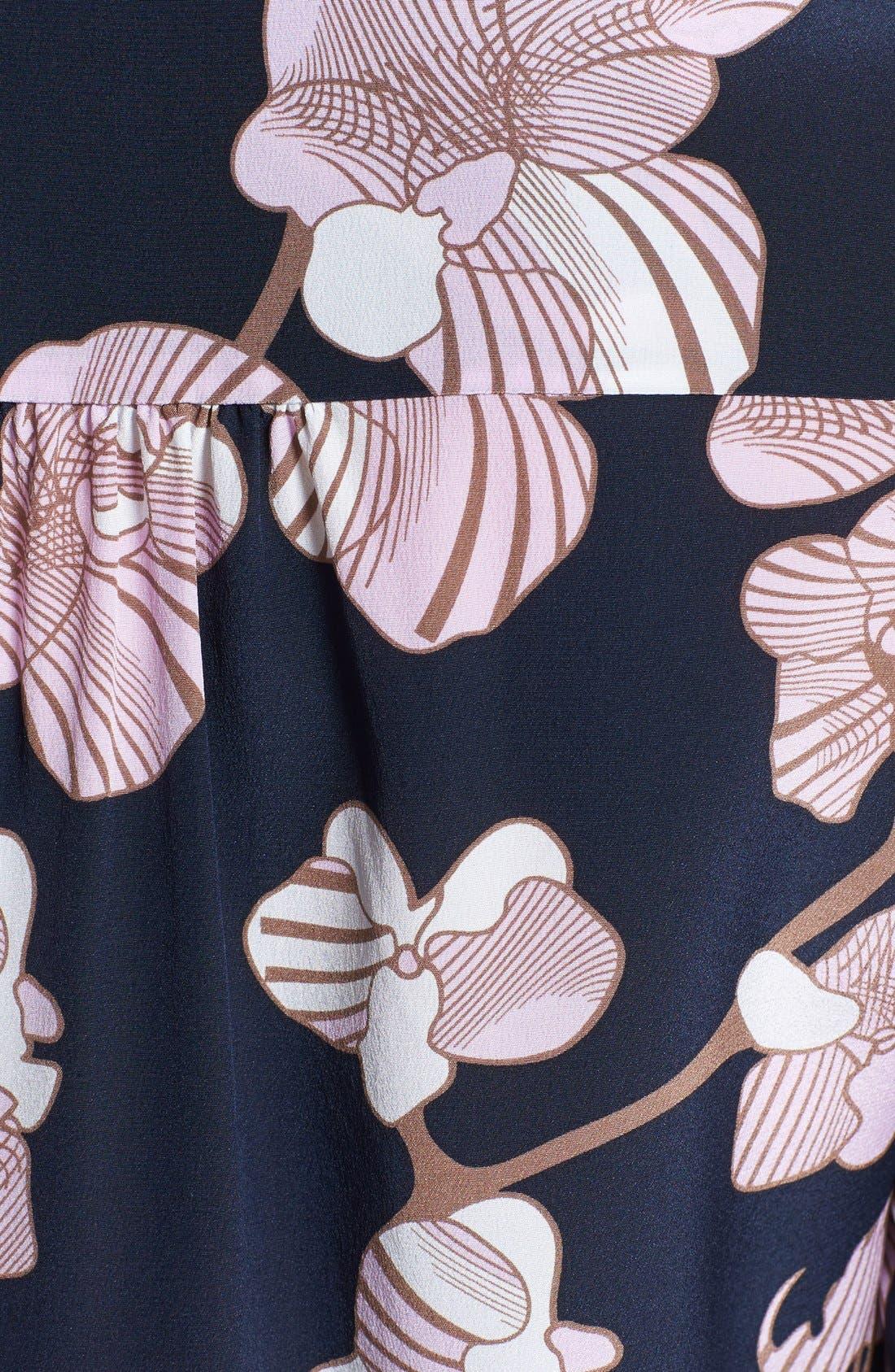 Alternate Image 3  - Diane von Furstenberg 'Lorelei 2' Print Silk Shirt