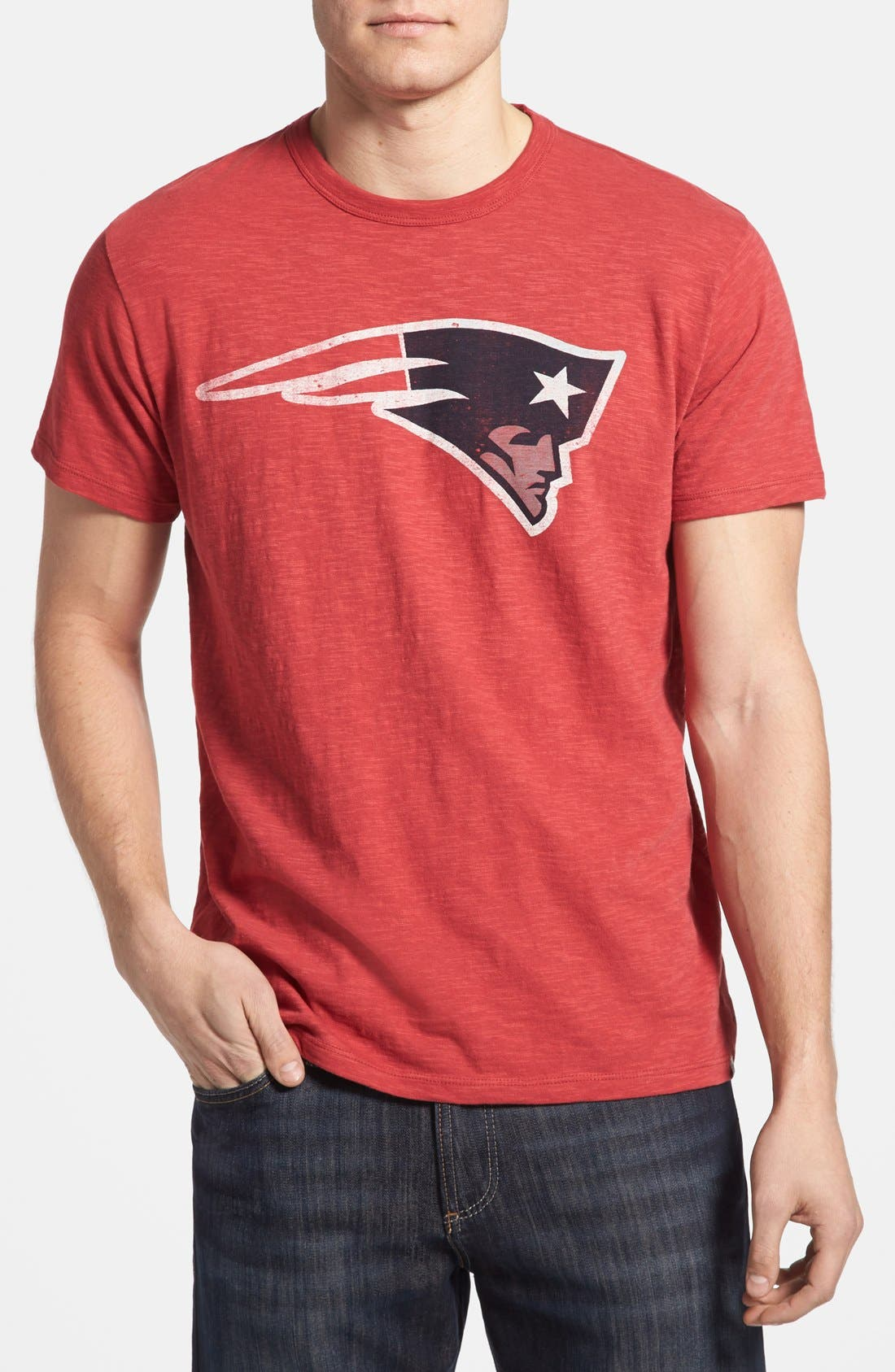 Main Image - 47 Brand 'New England Patriots - Scrum' Graphic T-Shirt