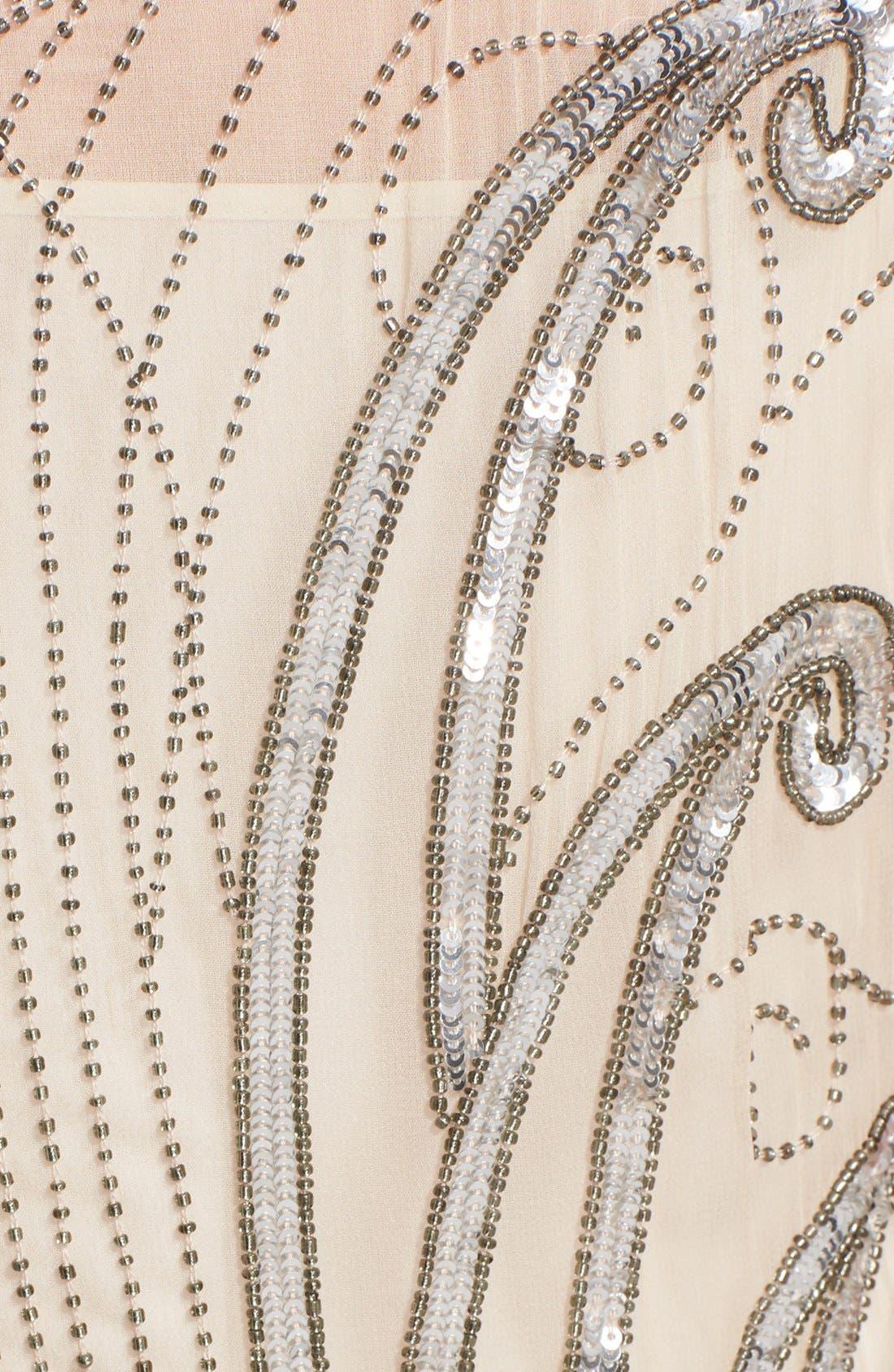 Alternate Image 3  - Haute Hippie Embellished Silk Dress