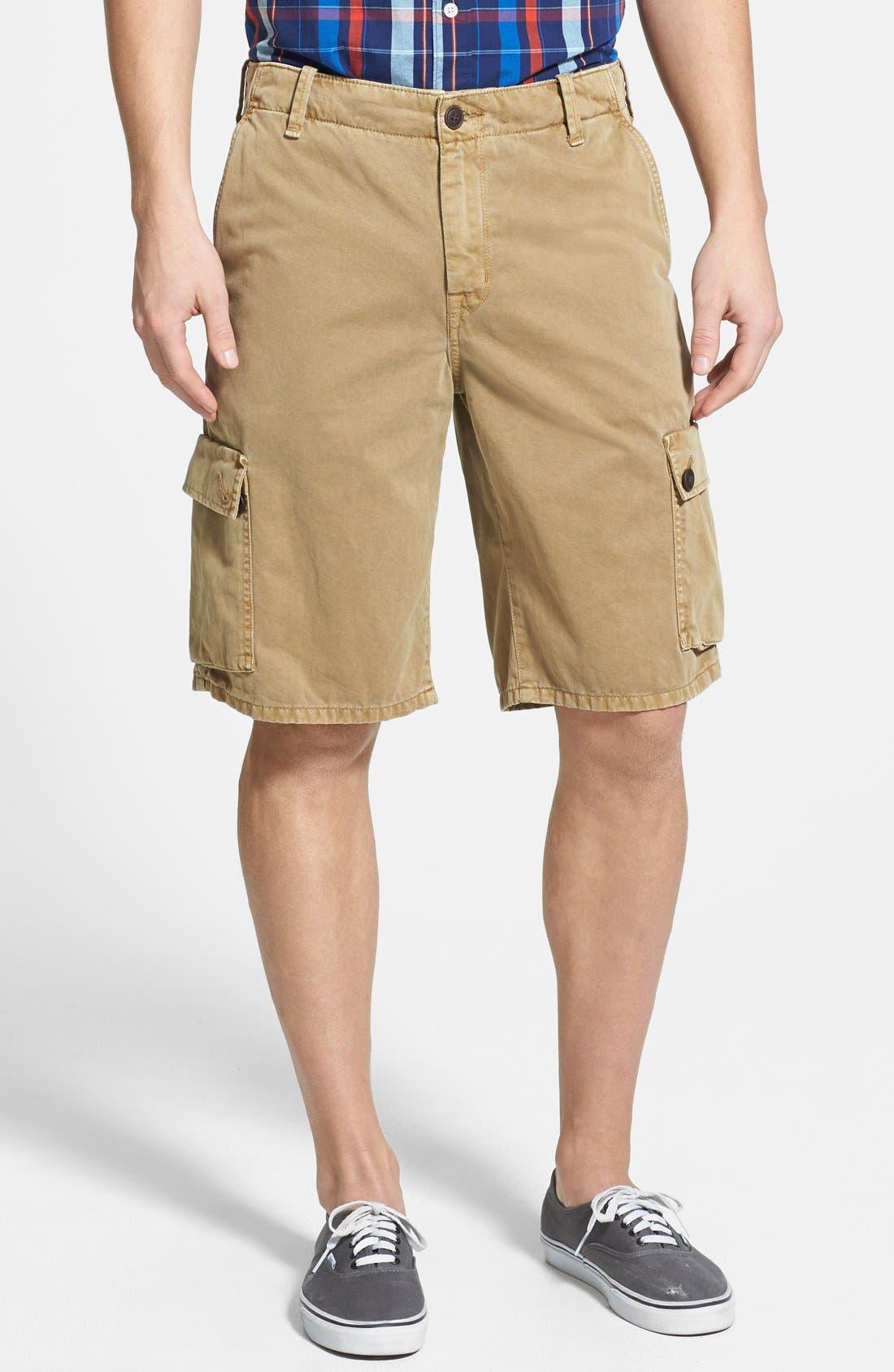Alternate Image 1 Selected - Lucky Brand Relaxed Cargo Shorts